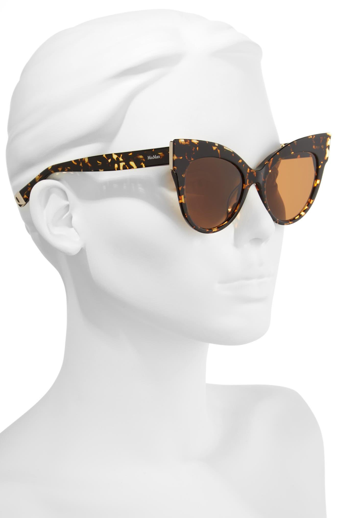 Anita 52mm Cat Eye Sunglasses,                             Alternate thumbnail 6, color,