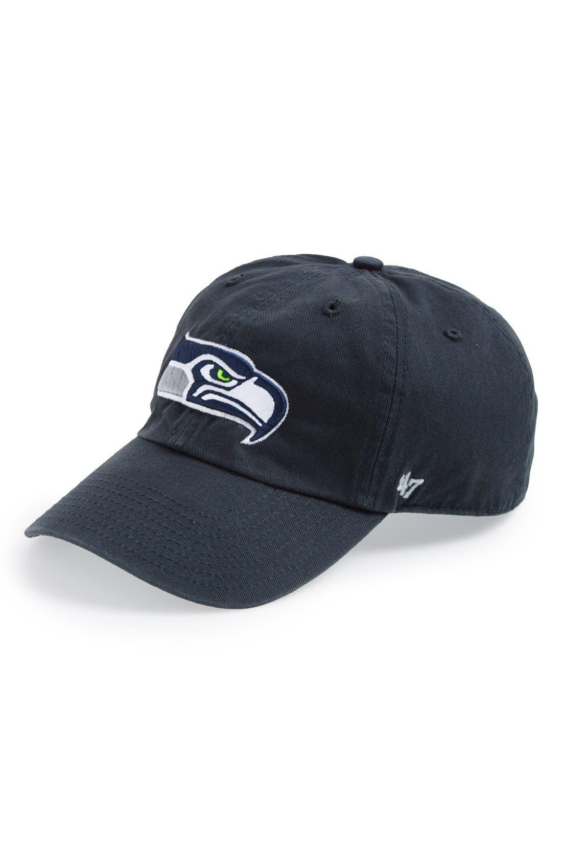 'Seattle Seahawks - Clean Up' Cap,                             Main thumbnail 1, color,                             410