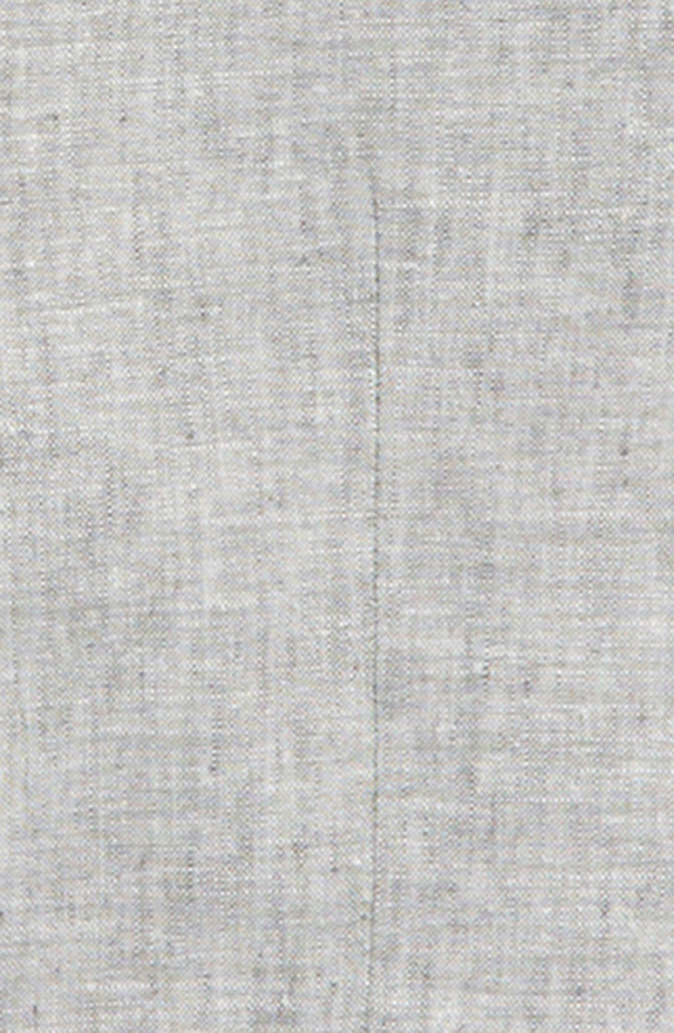NORDSTROM,                             Elliott Linen & Cotton Blazer,                             Alternate thumbnail 2, color,                             030