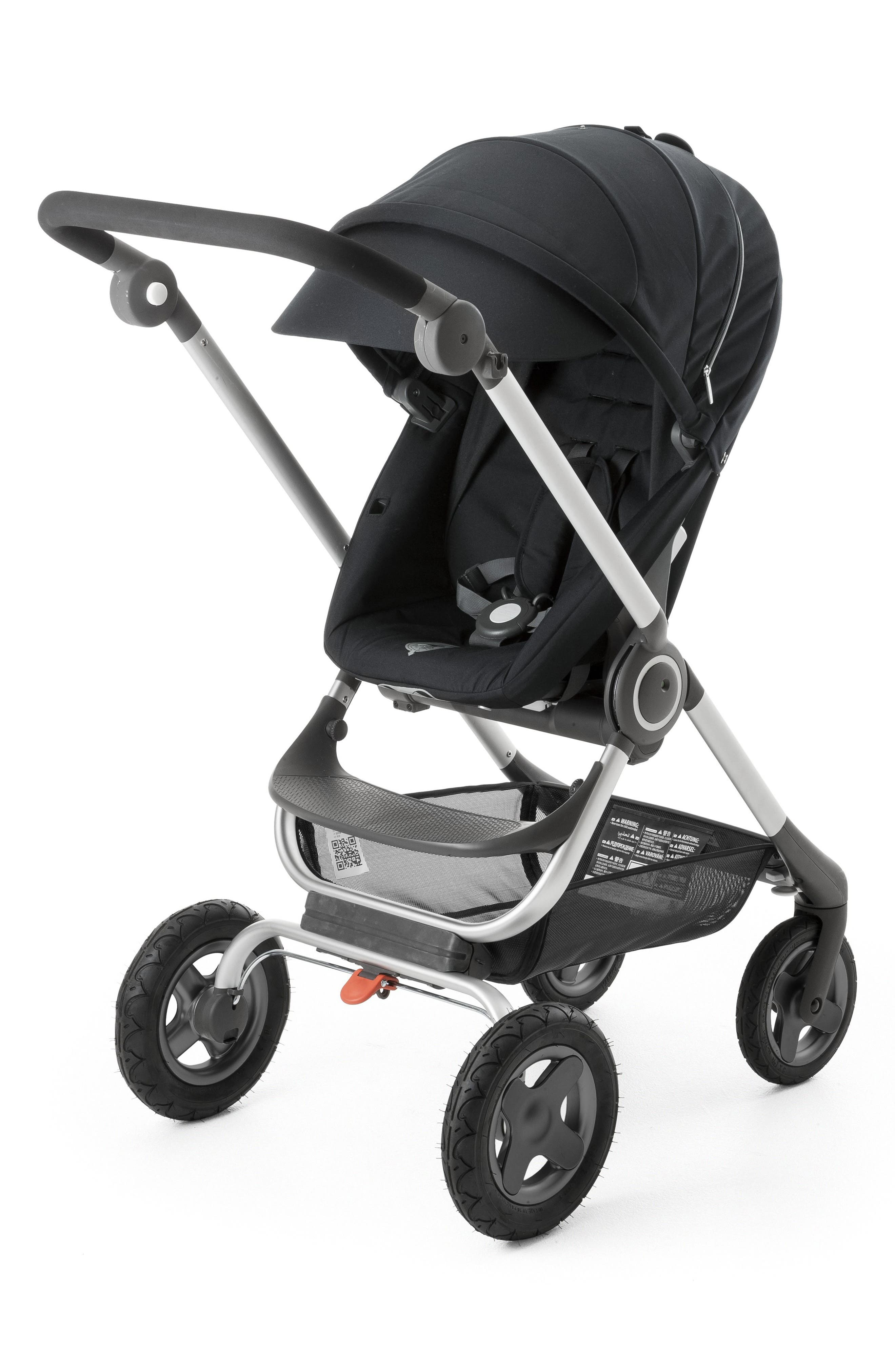 Scoot<sup>™</sup> Complete Stroller,                         Main,                         color, BLACK