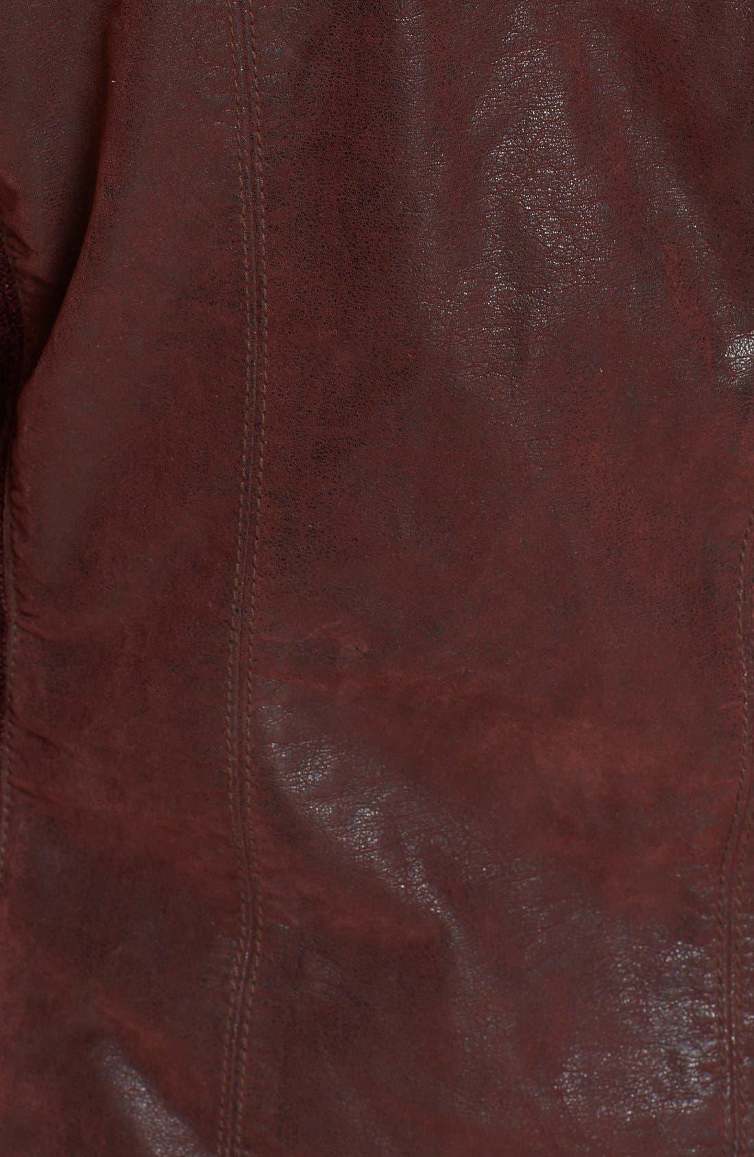 Faux Leather Jacket,                             Alternate thumbnail 39, color,