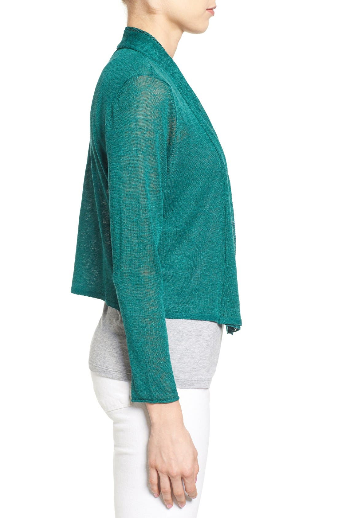 'Simply Sweet' Open Front Cardigan,                             Alternate thumbnail 3, color,                             366