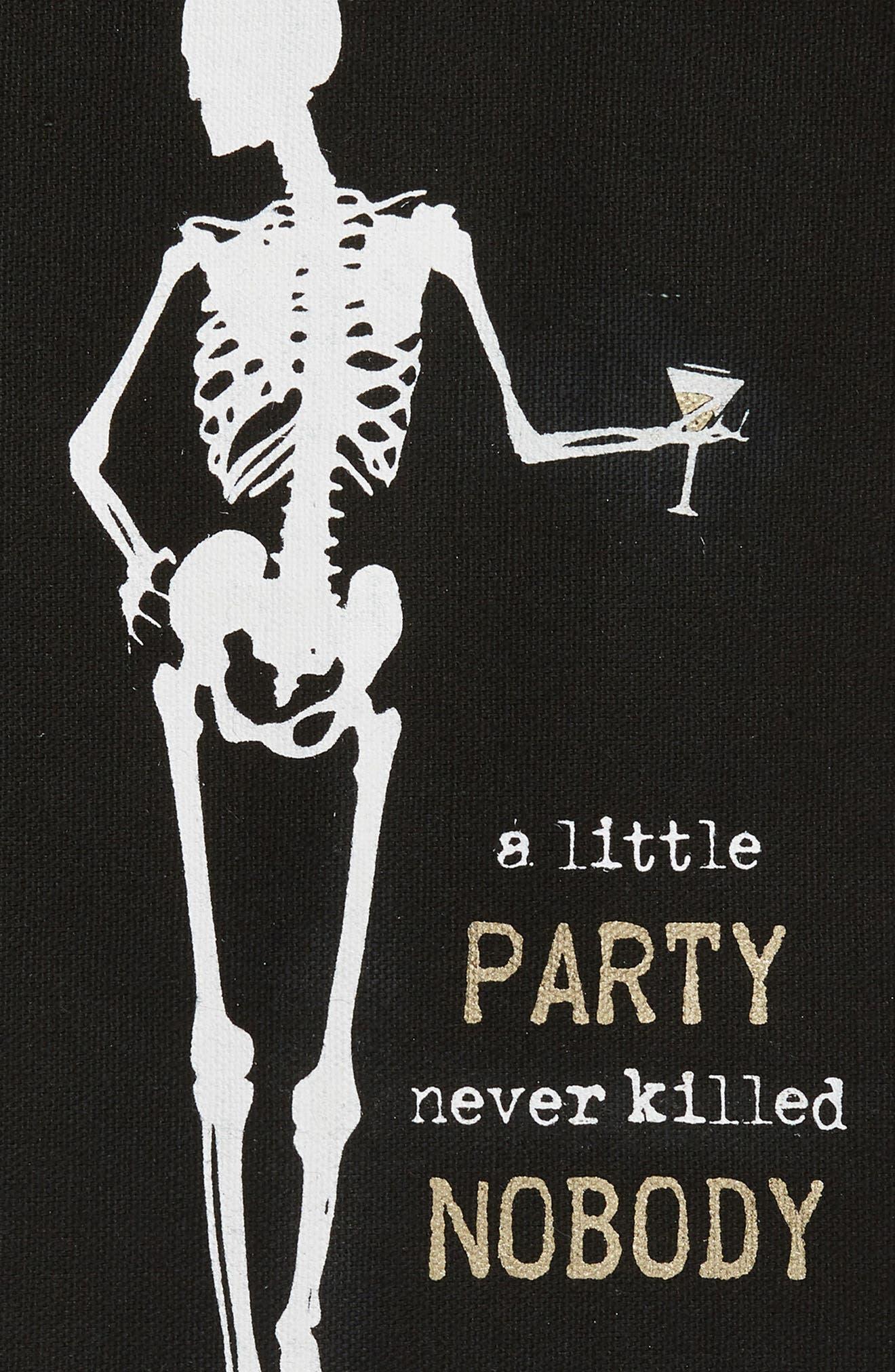 A Little Party Never Killed Nobody Set of 2 Dishtowels,                             Alternate thumbnail 2, color,                             001