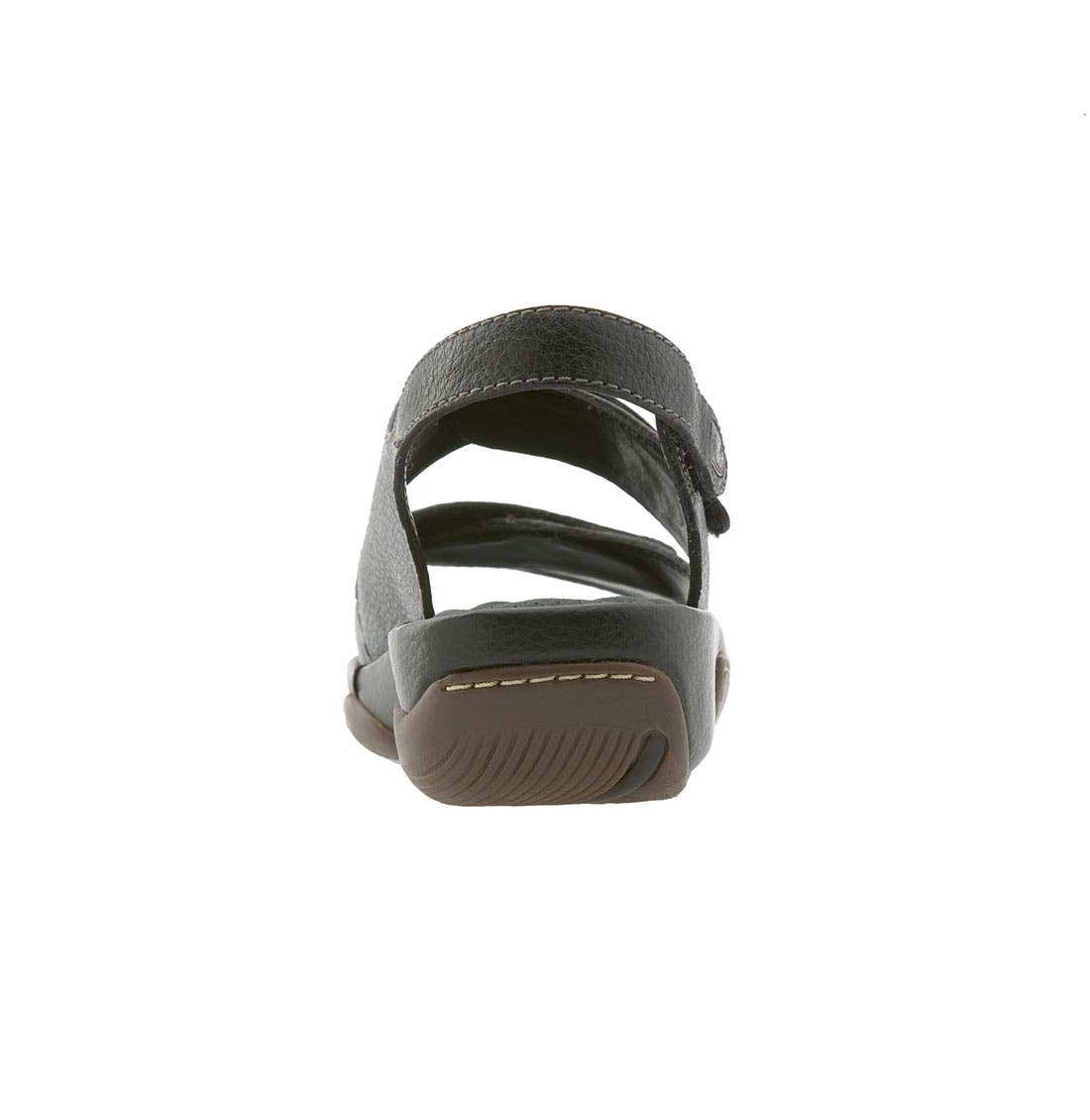 'Bolivia' Sandal,                             Alternate thumbnail 2, color,                             BLACK