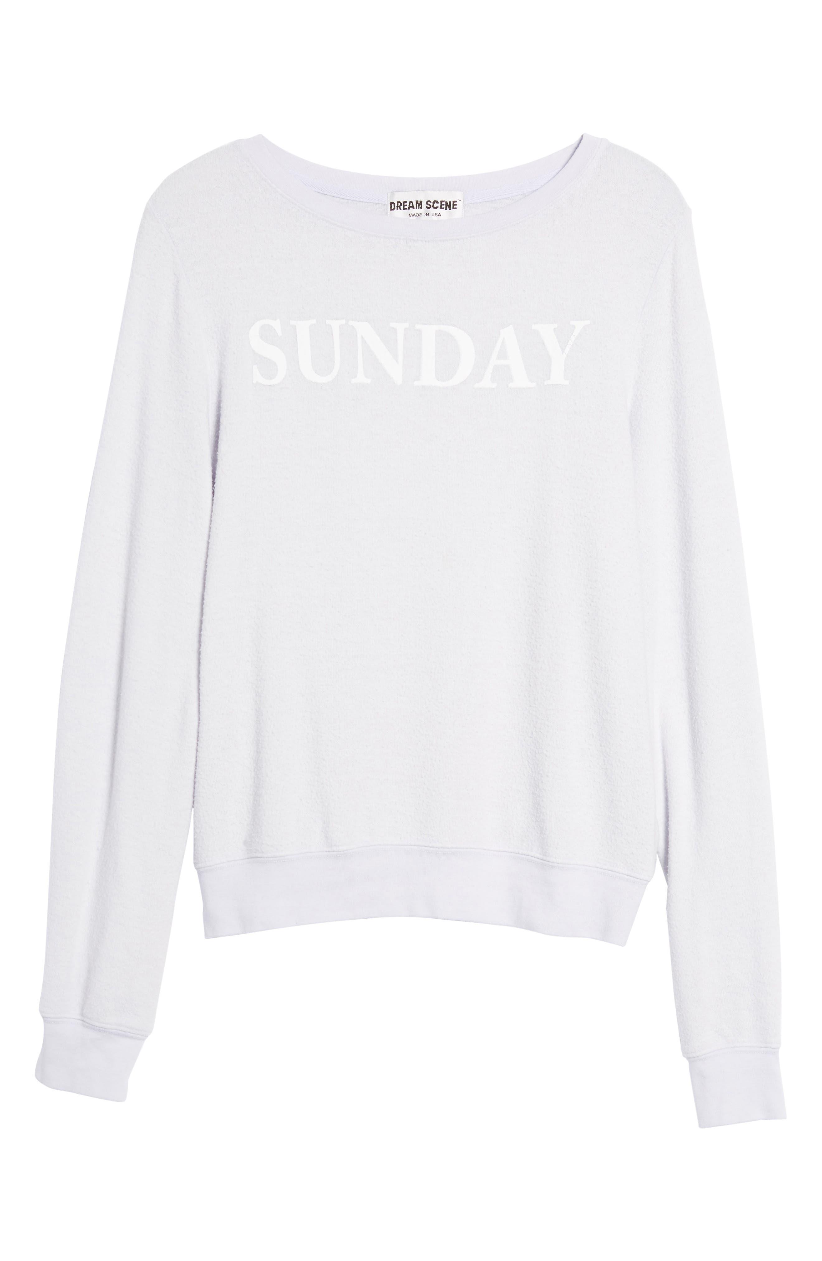 Sunday Sweatshirt,                             Alternate thumbnail 6, color,                             450