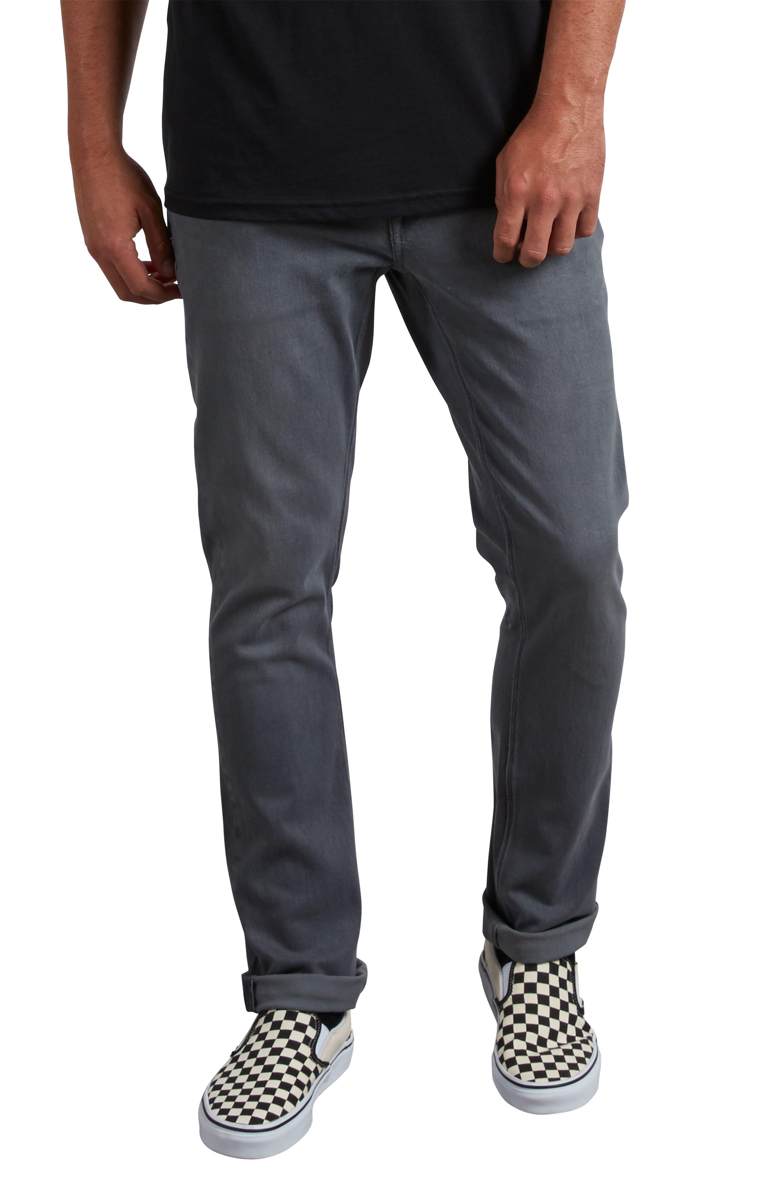 'Vorta' Slim Fit Jeans,                         Main,                         color, GREY VINTAGE
