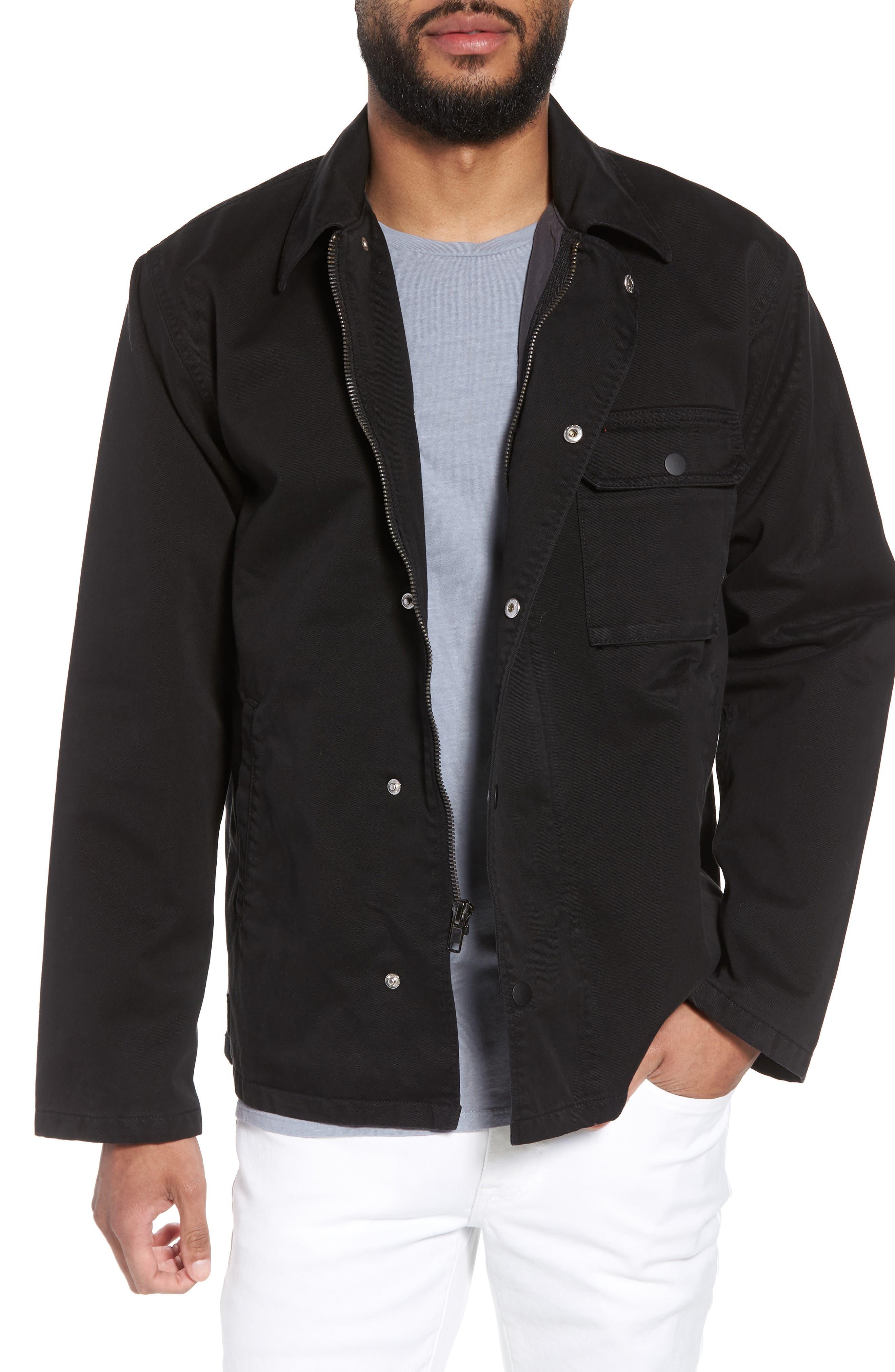 Hudson Military Jacket,                             Main thumbnail 1, color,                             001