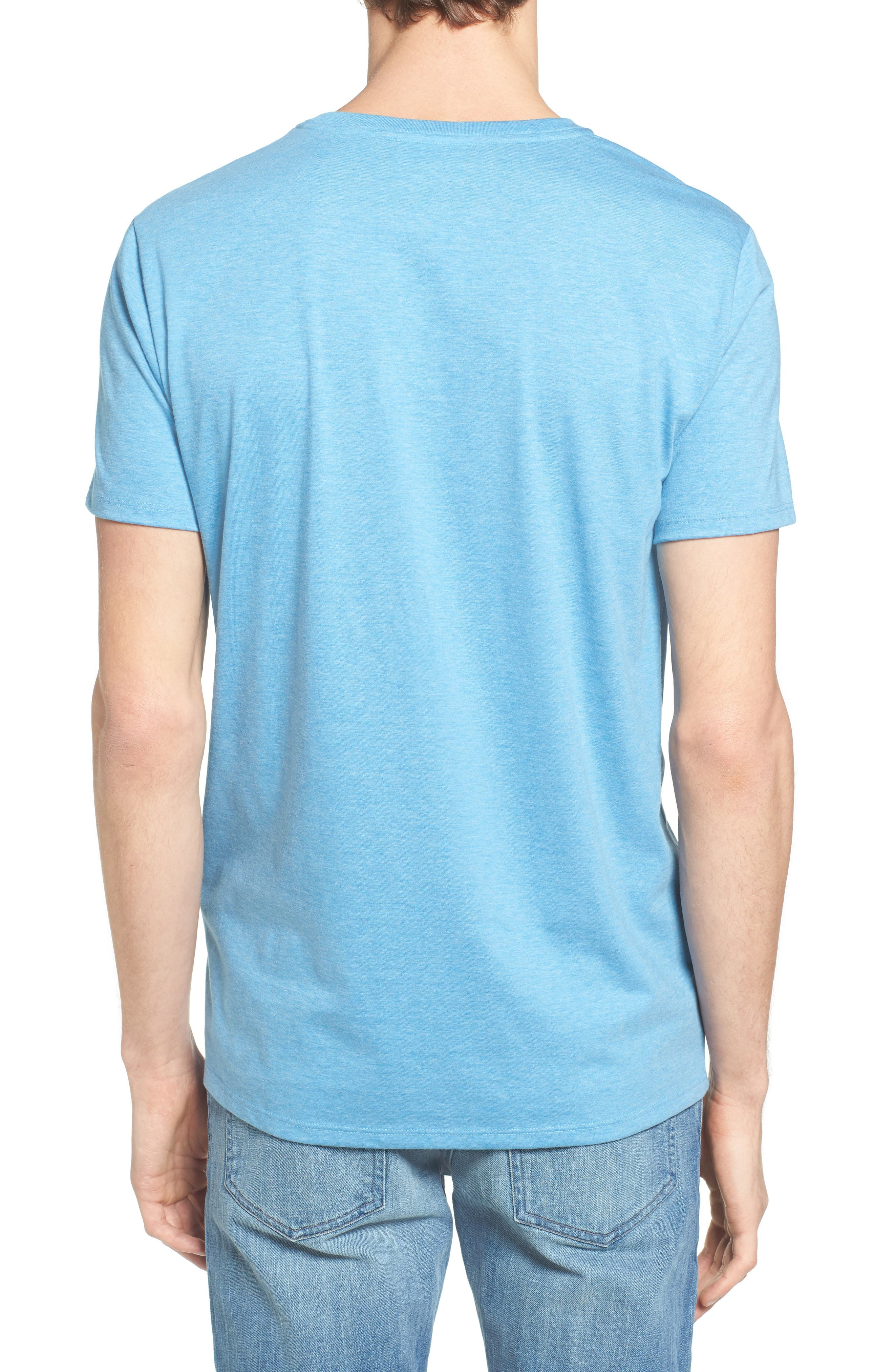V-Neck T-Shirt,                             Alternate thumbnail 11, color,