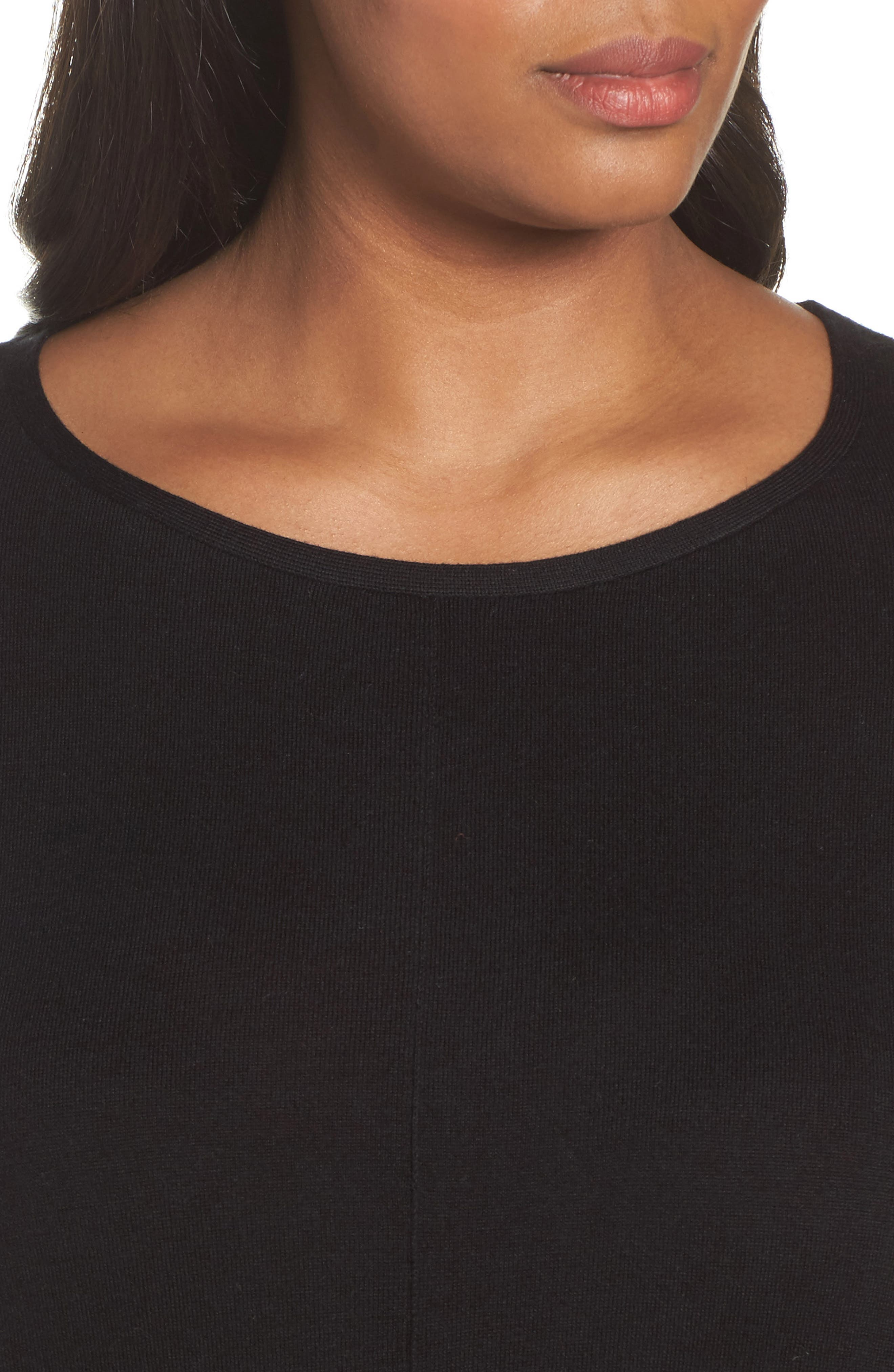 Dolman Sleeve Sweater,                             Alternate thumbnail 4, color,                             001