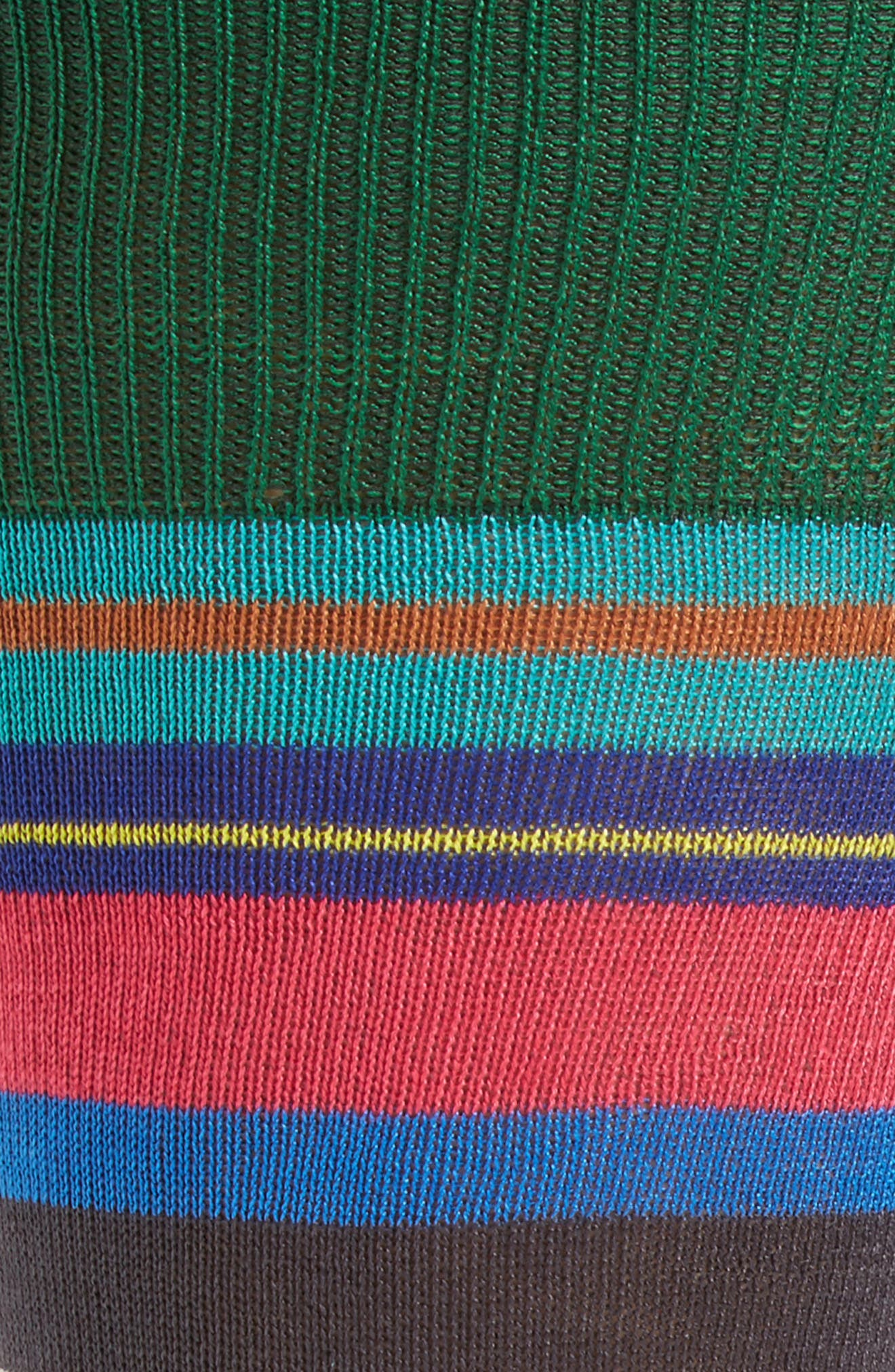 Halentoe Stripe Socks,                             Alternate thumbnail 2, color,                             001