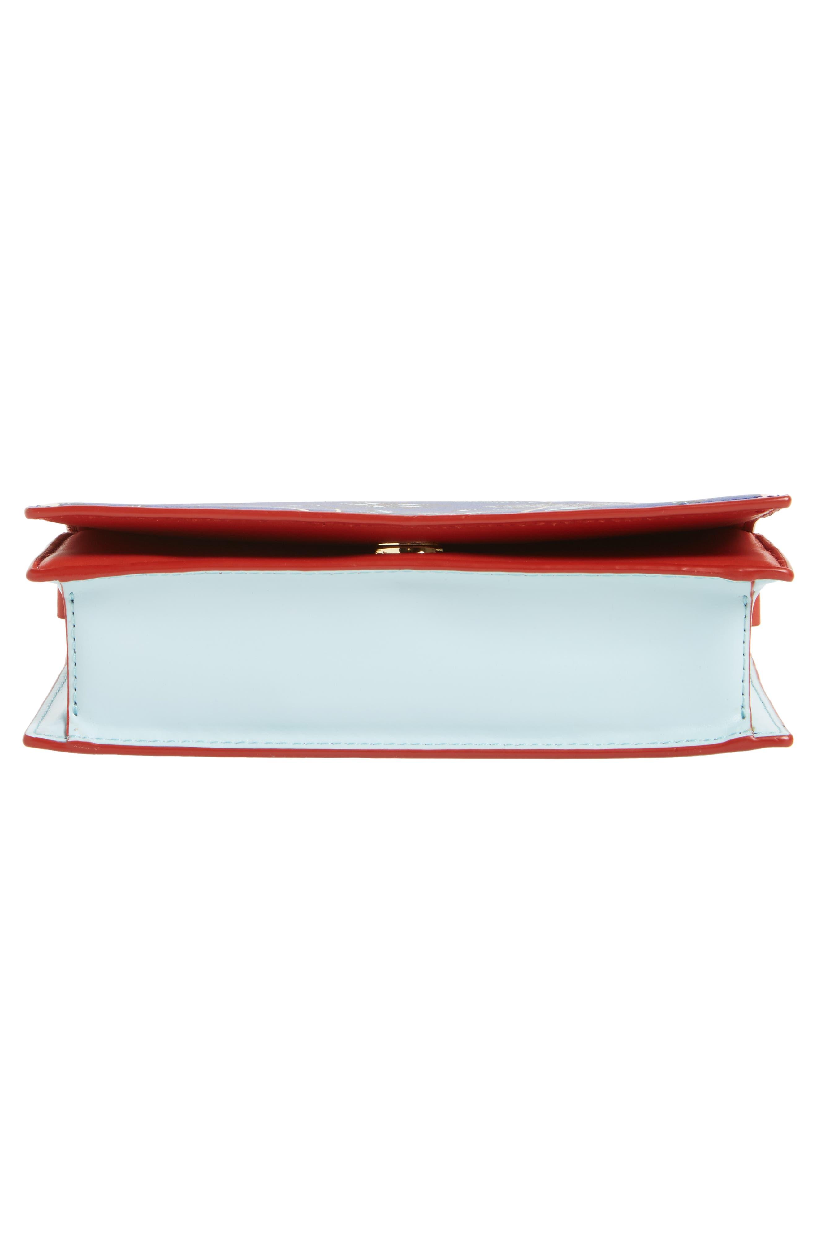 Soirée Leather Convertible Crossbody Bag,                             Alternate thumbnail 20, color,