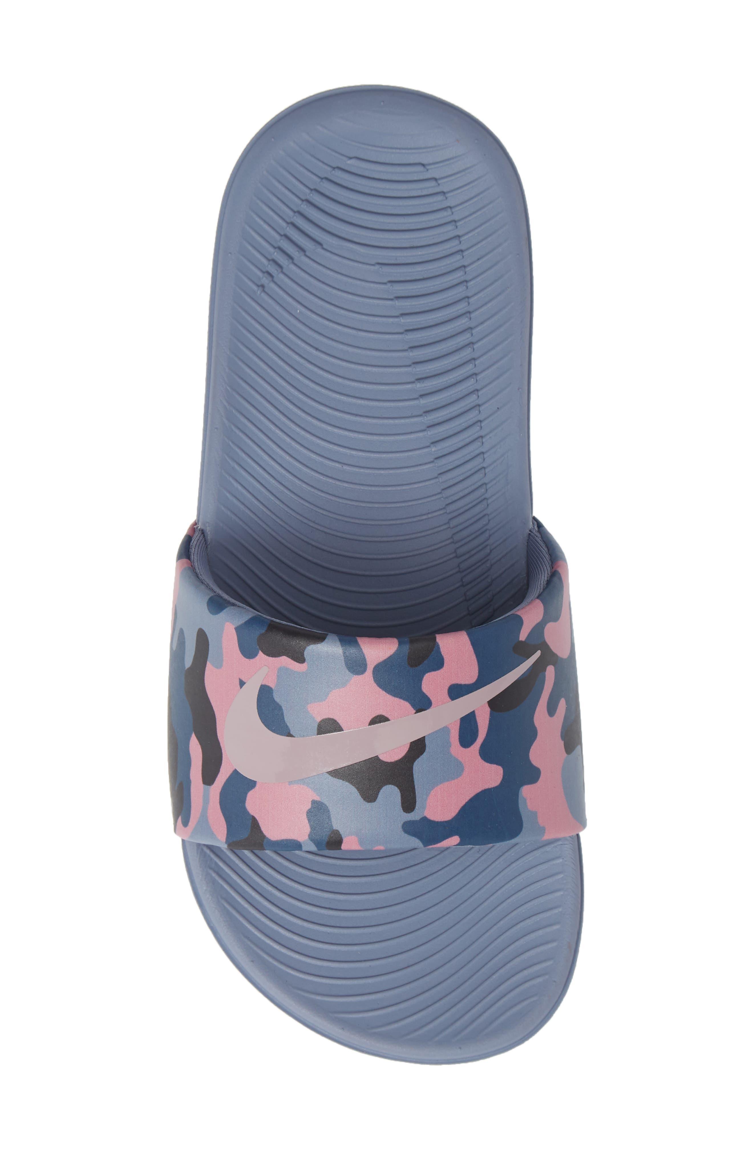 Kawa Slide Sandal,                             Alternate thumbnail 5, color,                             SLATE/ ROSE/ DIFFUSED BLUE