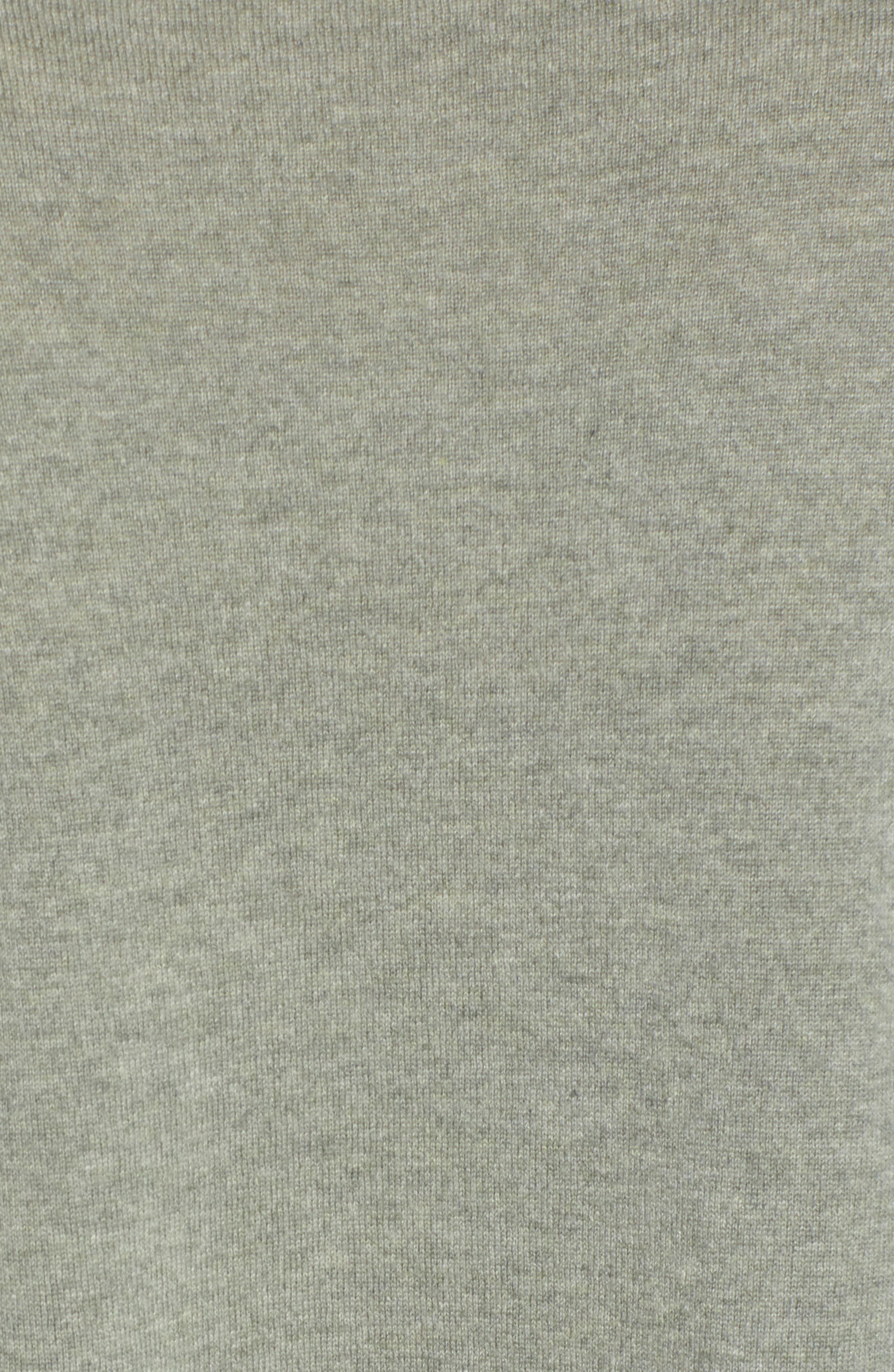 Boxy Cashmere Sweater,                             Alternate thumbnail 5, color,                             094