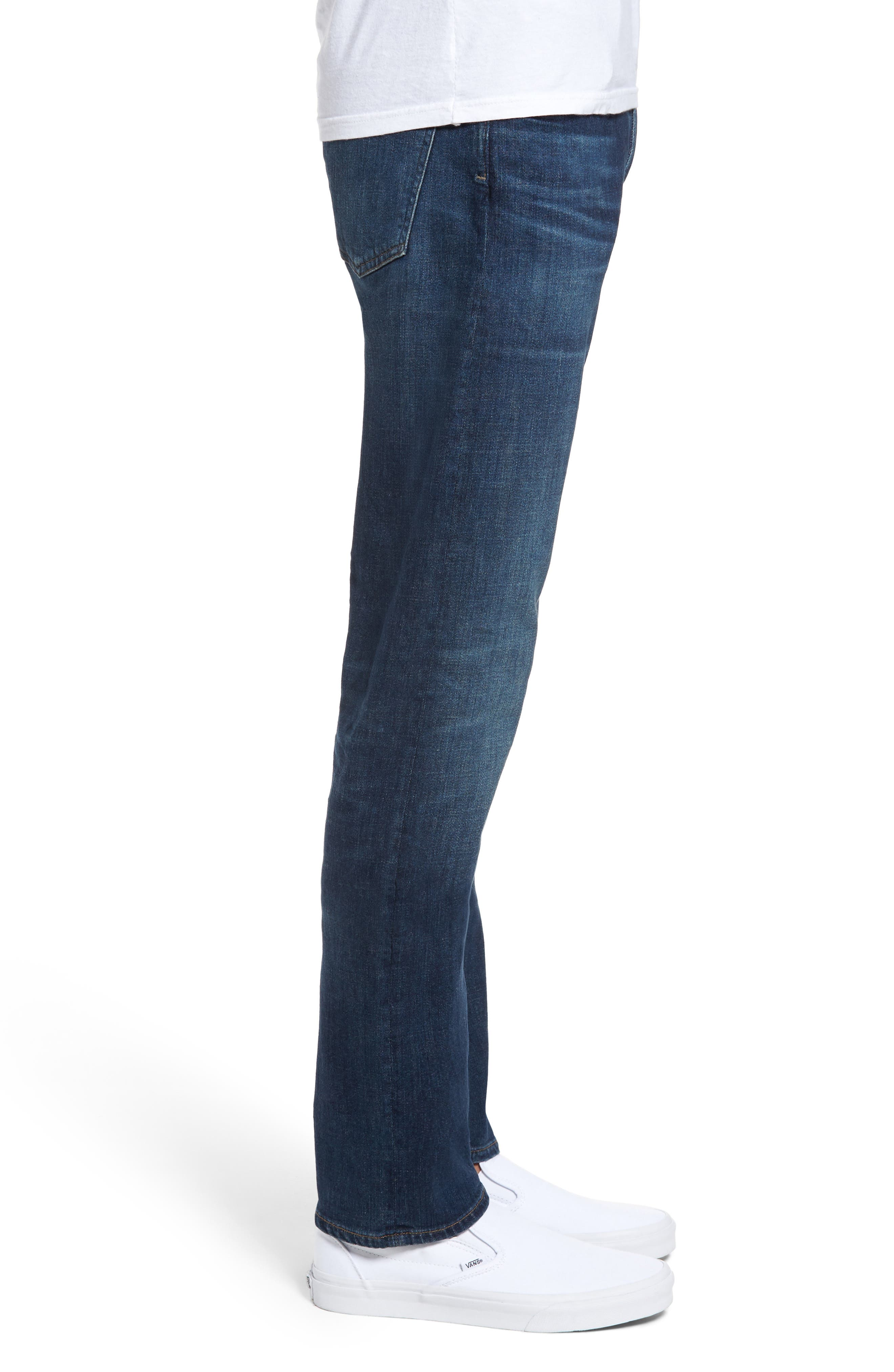 Bowery Slim Fit Jeans,                             Alternate thumbnail 3, color,                             401