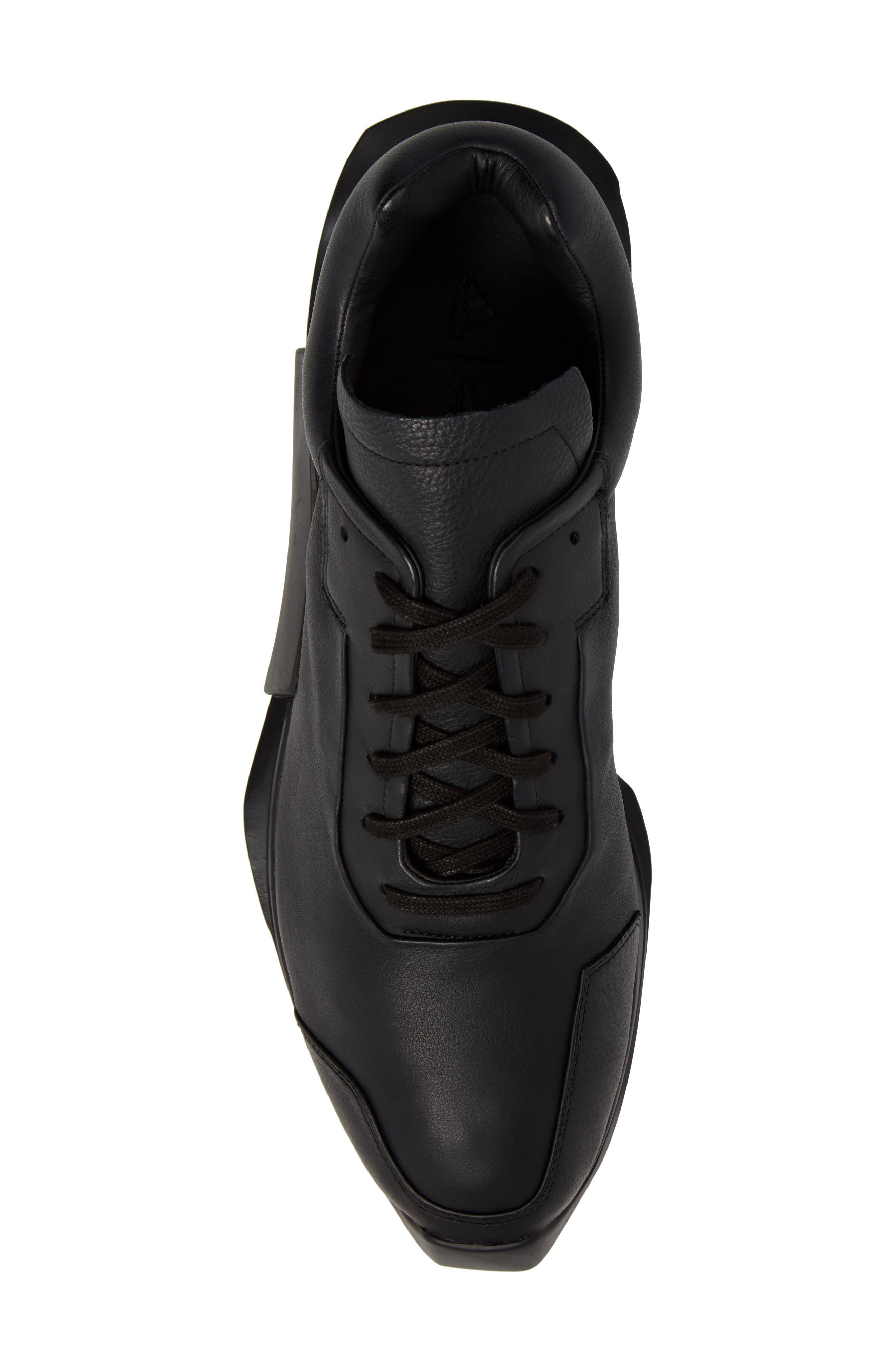 New Runner Boost Sneaker,                             Alternate thumbnail 5, color,                             001