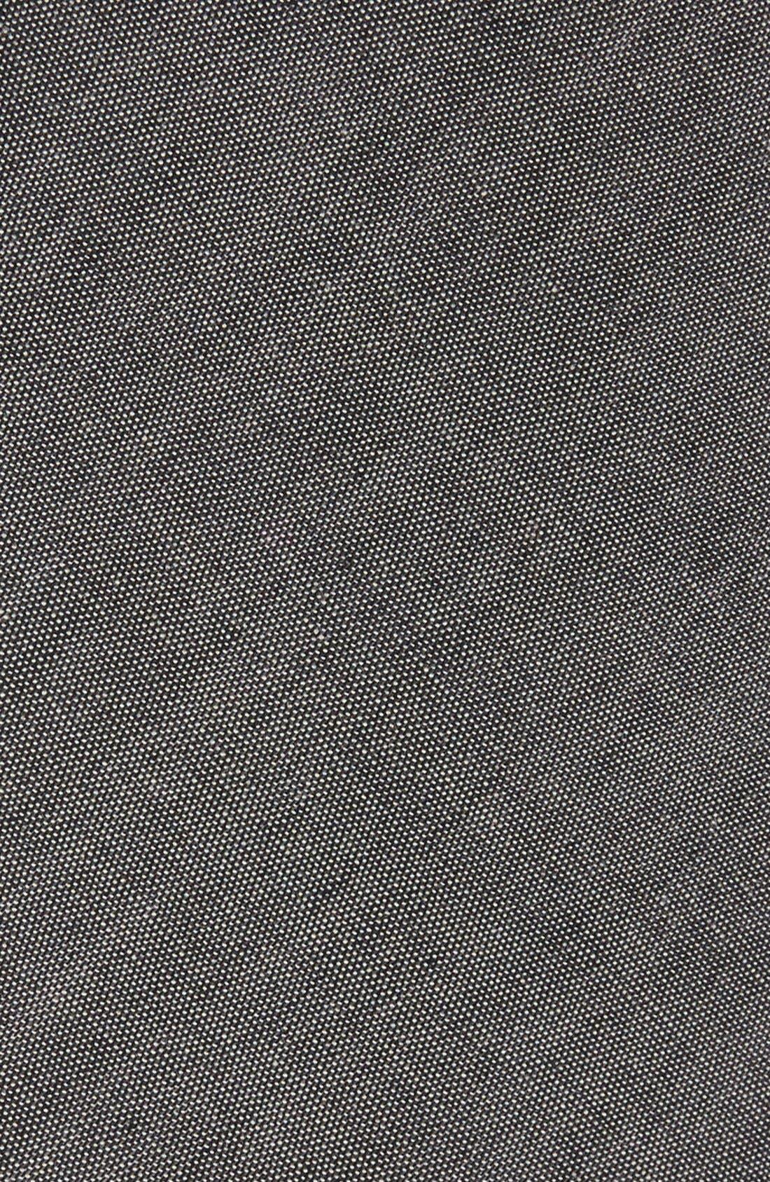 Cotton Tie,                             Alternate thumbnail 2, color,                             WARM GREY