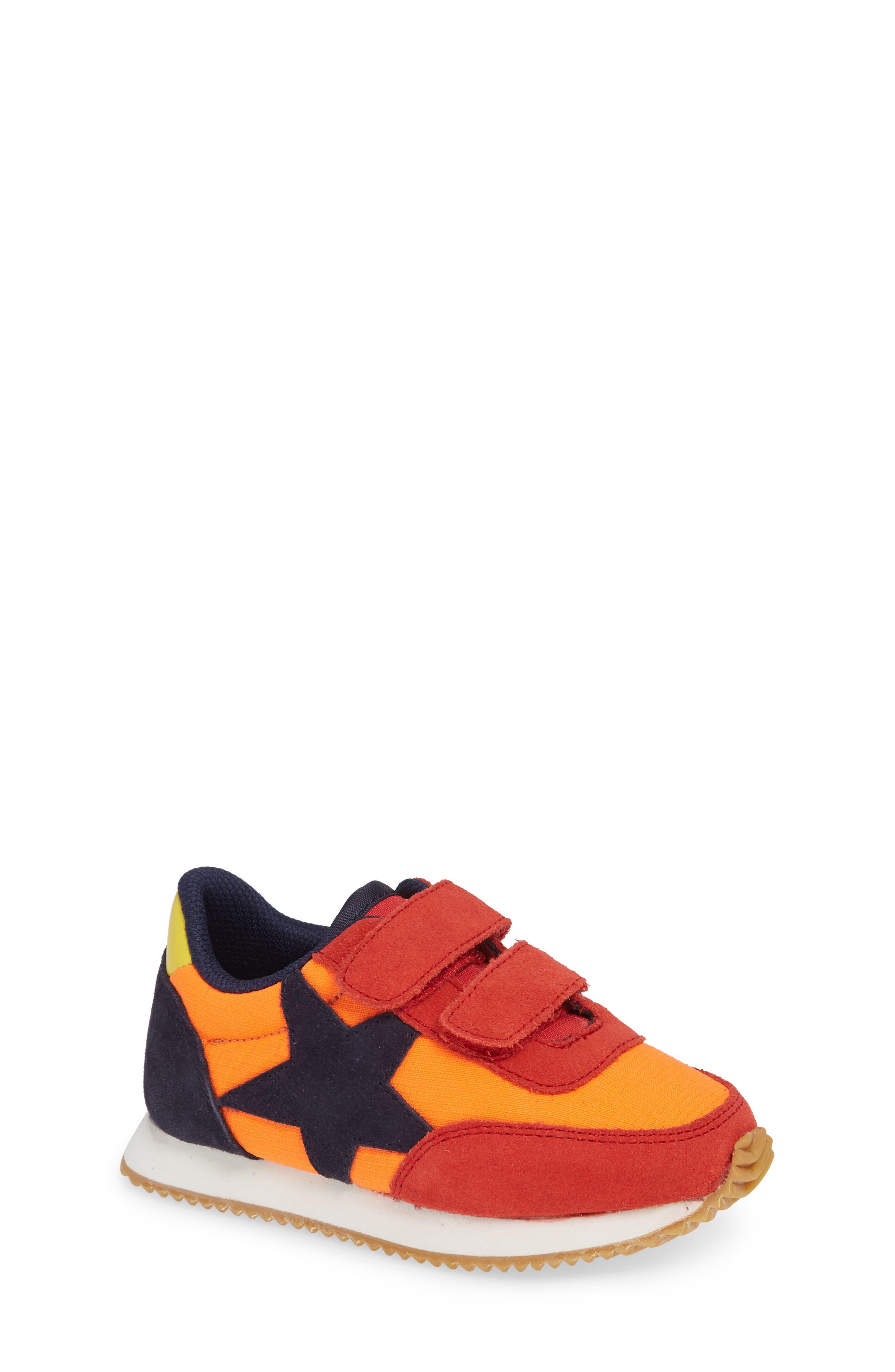 Print Sneakers,                         Main,                         color, SALSA RED