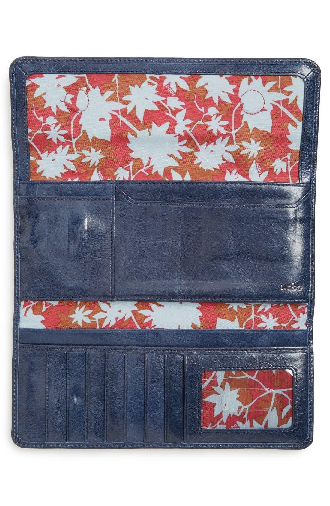 'Sadie' Leather Wallet,                             Alternate thumbnail 90, color,