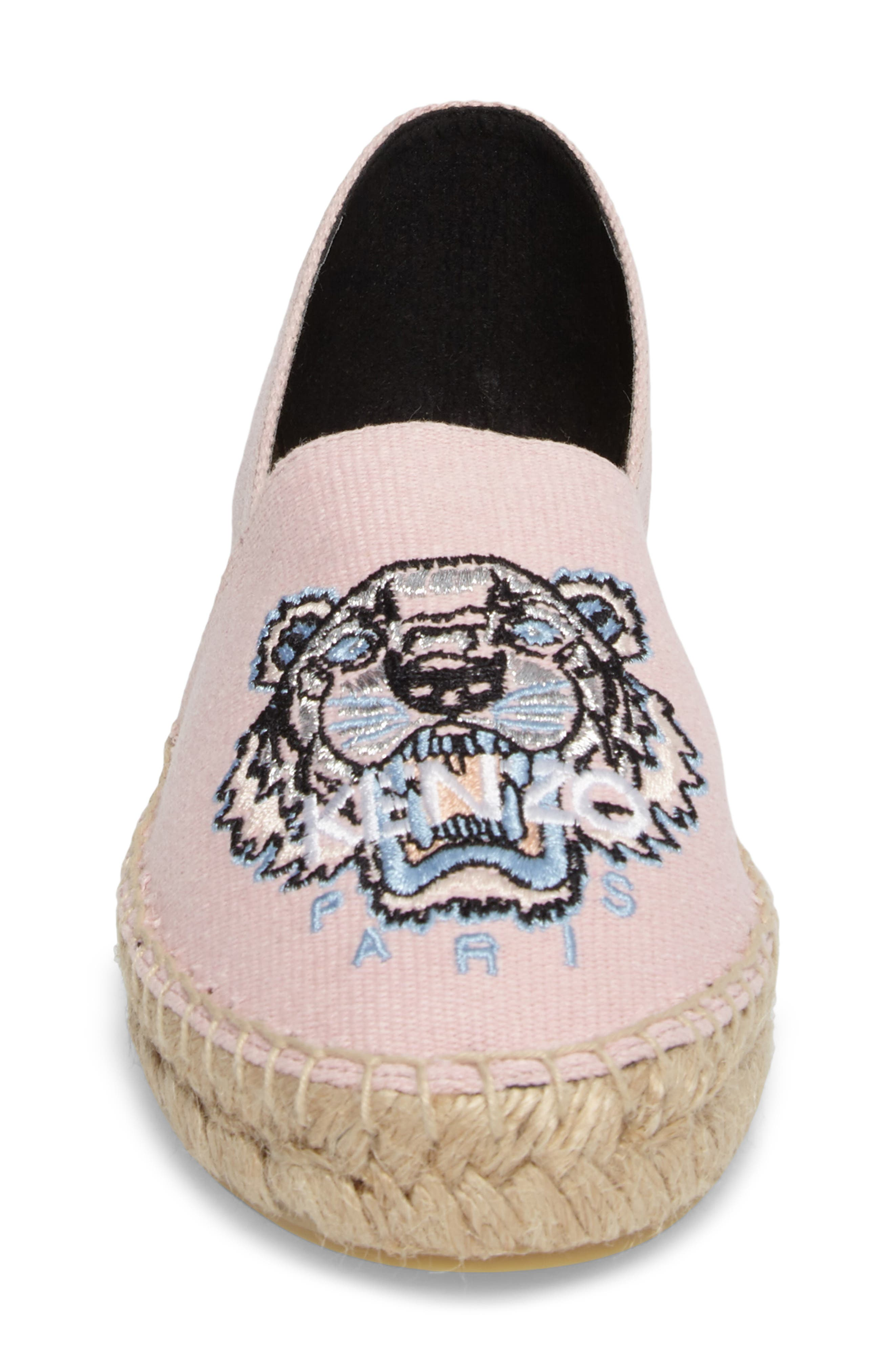 Tiger Logo Embroidered Espadrille,                             Alternate thumbnail 7, color,