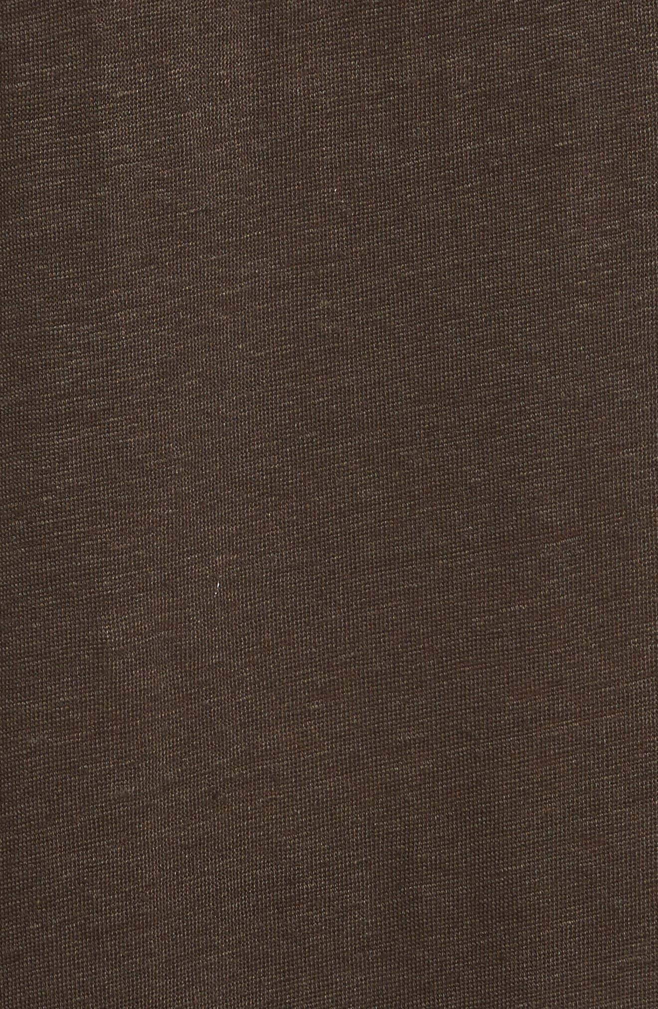 Karossi Asymmetrical Linen Tank Dress,                             Alternate thumbnail 5, color,                             029