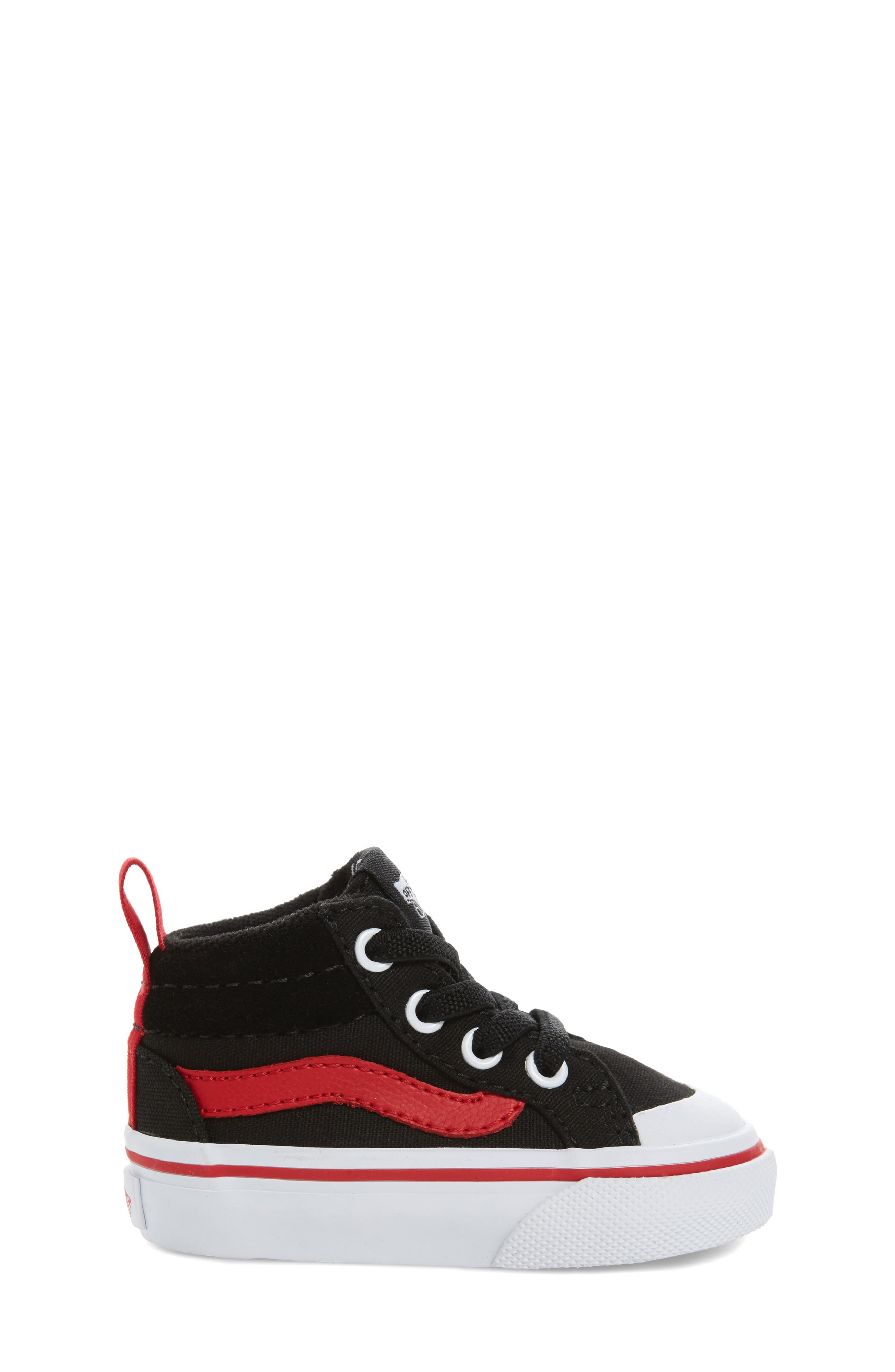 Racer Mid Elastic Lace Sneaker,                             Alternate thumbnail 20, color,