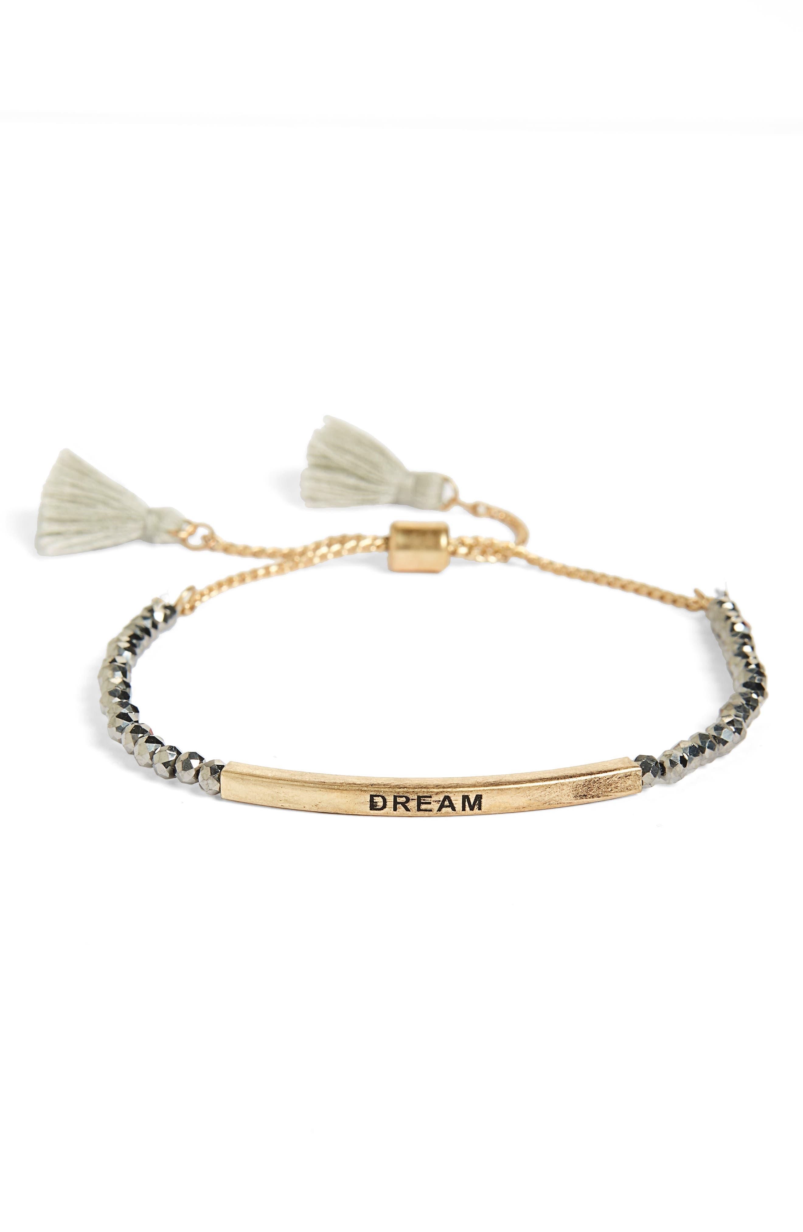 Dream Beaded Bolo Bracelet,                         Main,                         color, 710