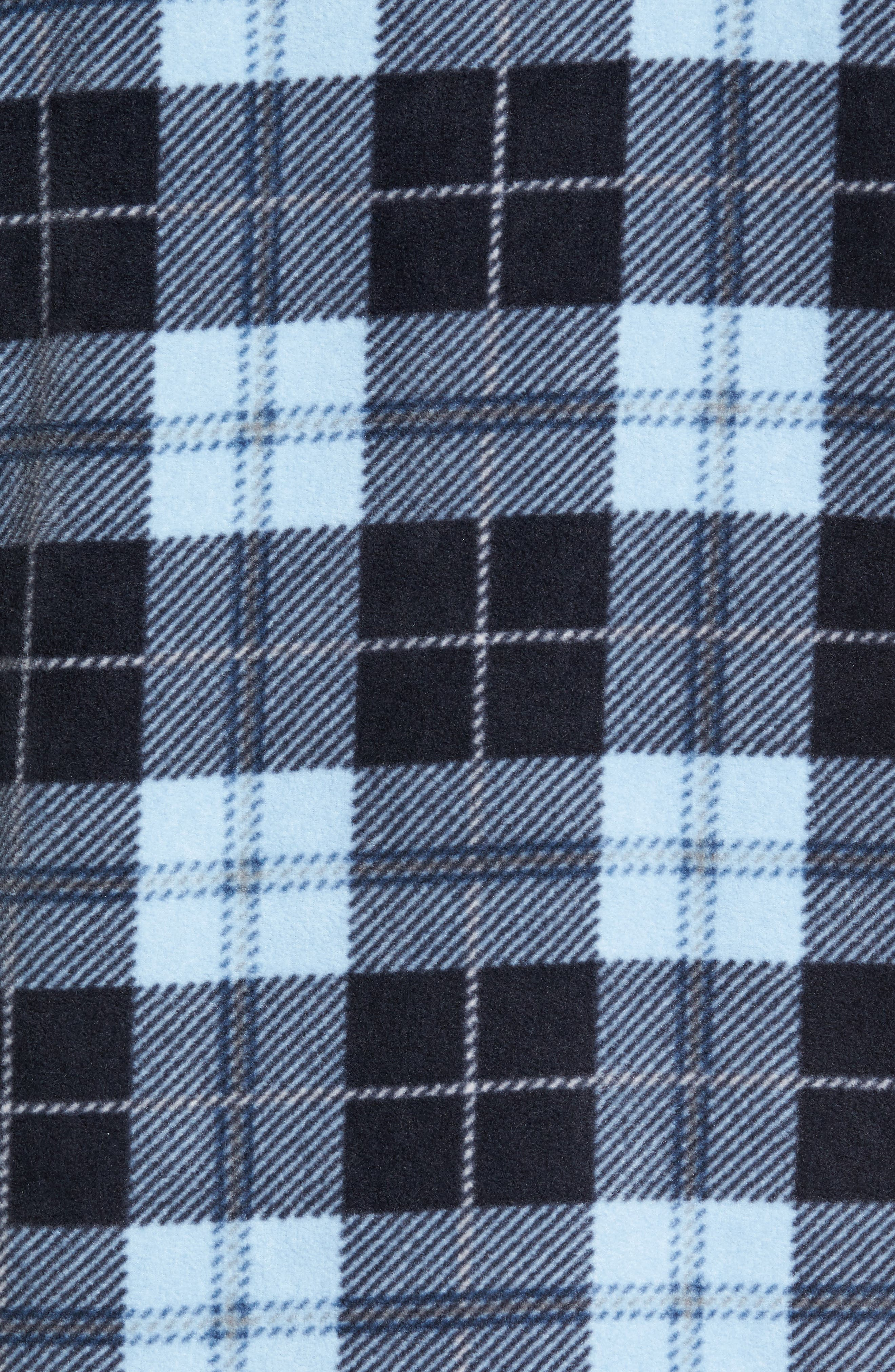 Glacier Plaid Fleece Flannel Shirt,                             Alternate thumbnail 25, color,