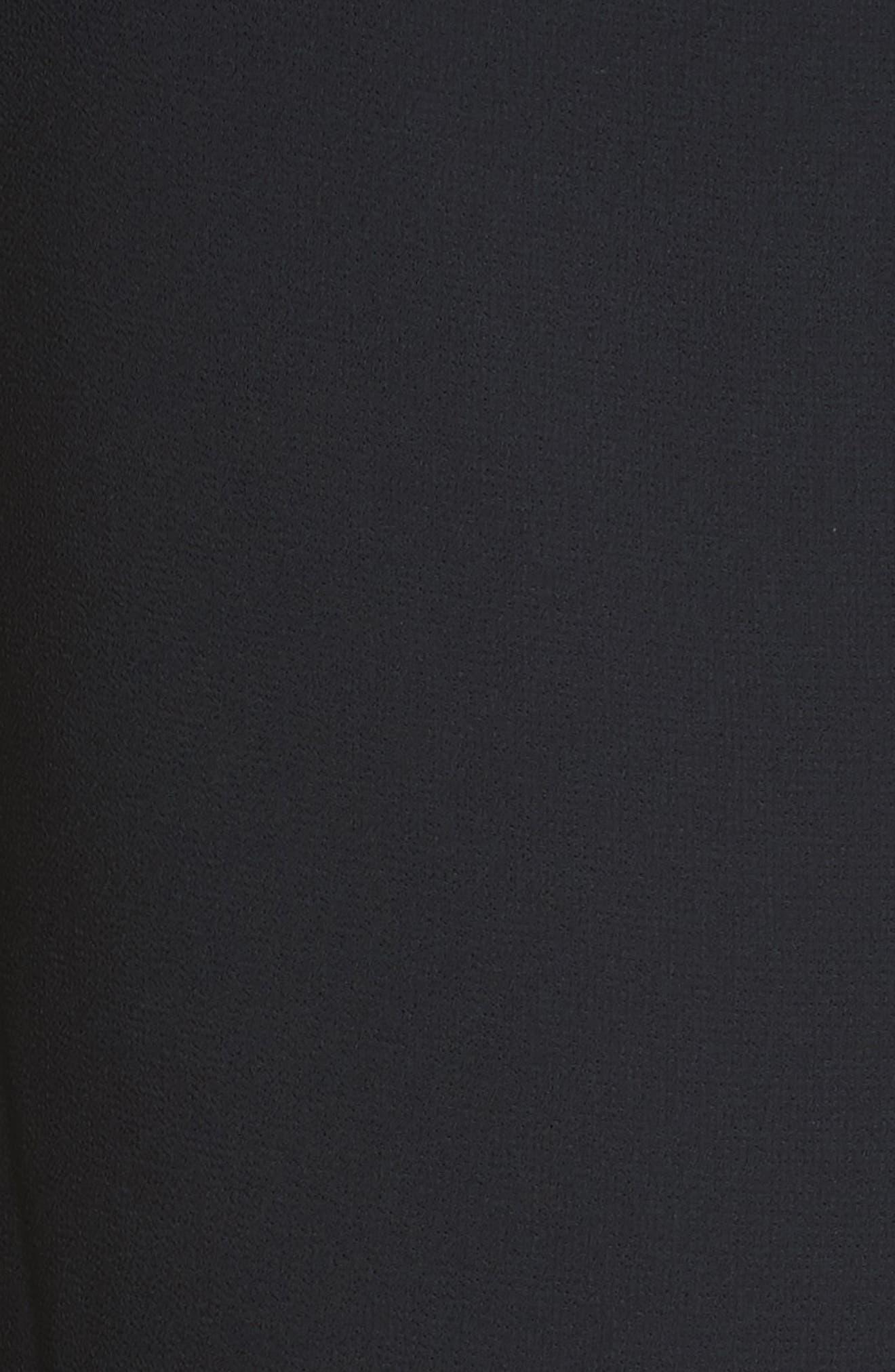 Ruffle Trim Shift Dress,                             Alternate thumbnail 5, color,                             402