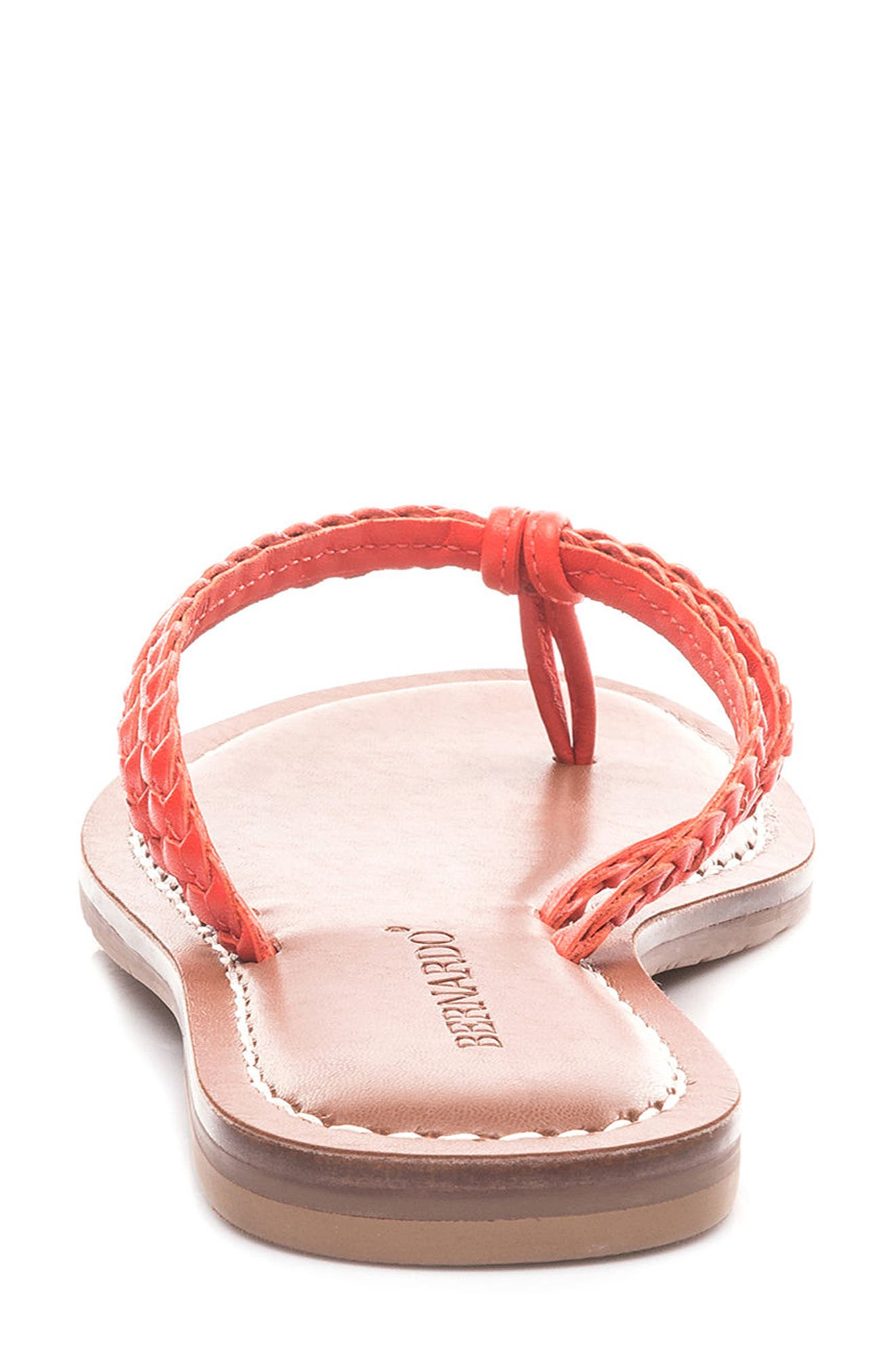 Bernardo Greta Braided Strap Sandal,                             Alternate thumbnail 46, color,