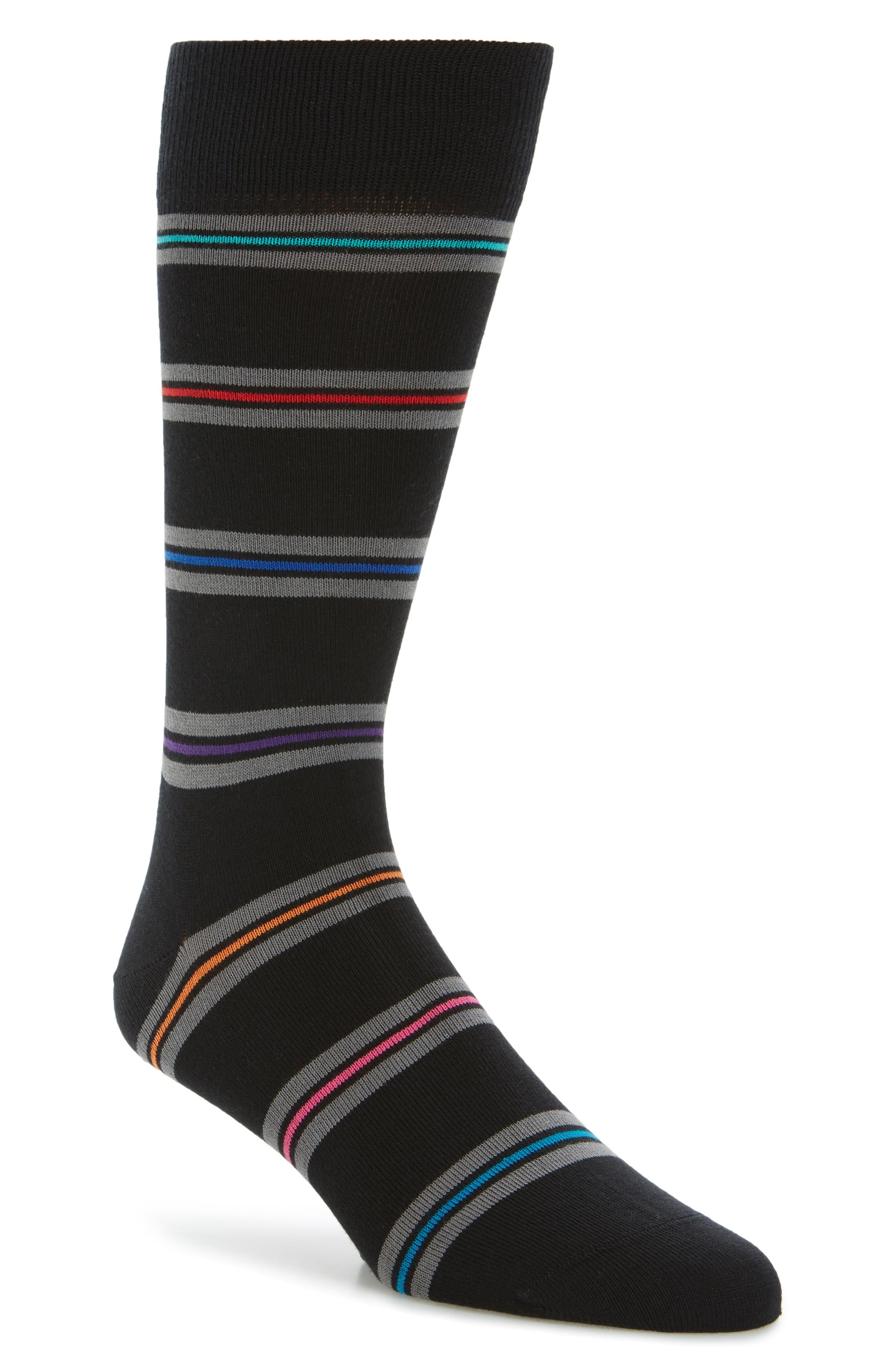 Blanket Stripe Socks,                             Main thumbnail 1, color,