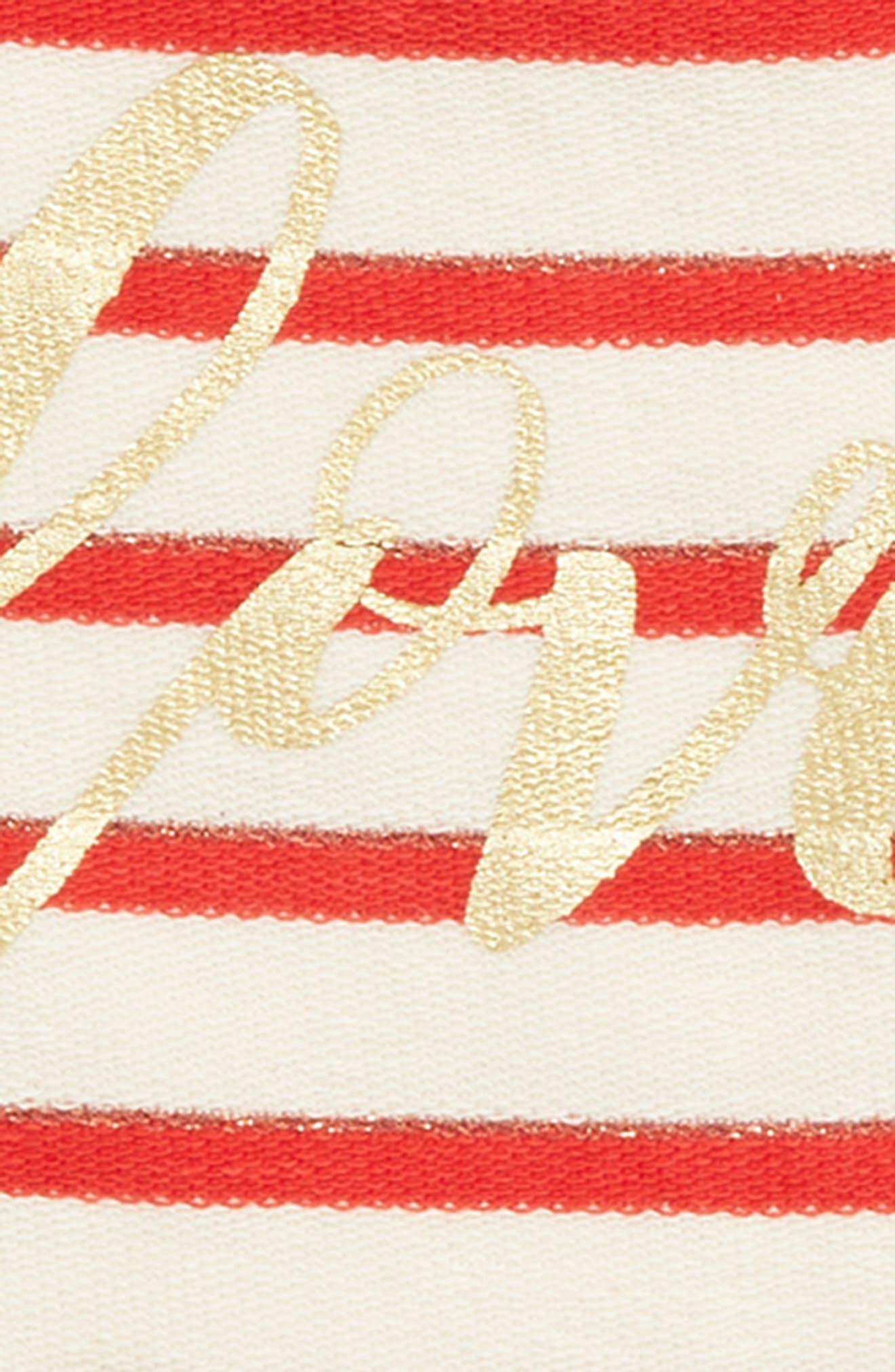 PEEK AREN'T YOU CURIOUS,                             Love Sweatshirt,                             Alternate thumbnail 2, color,                             RED