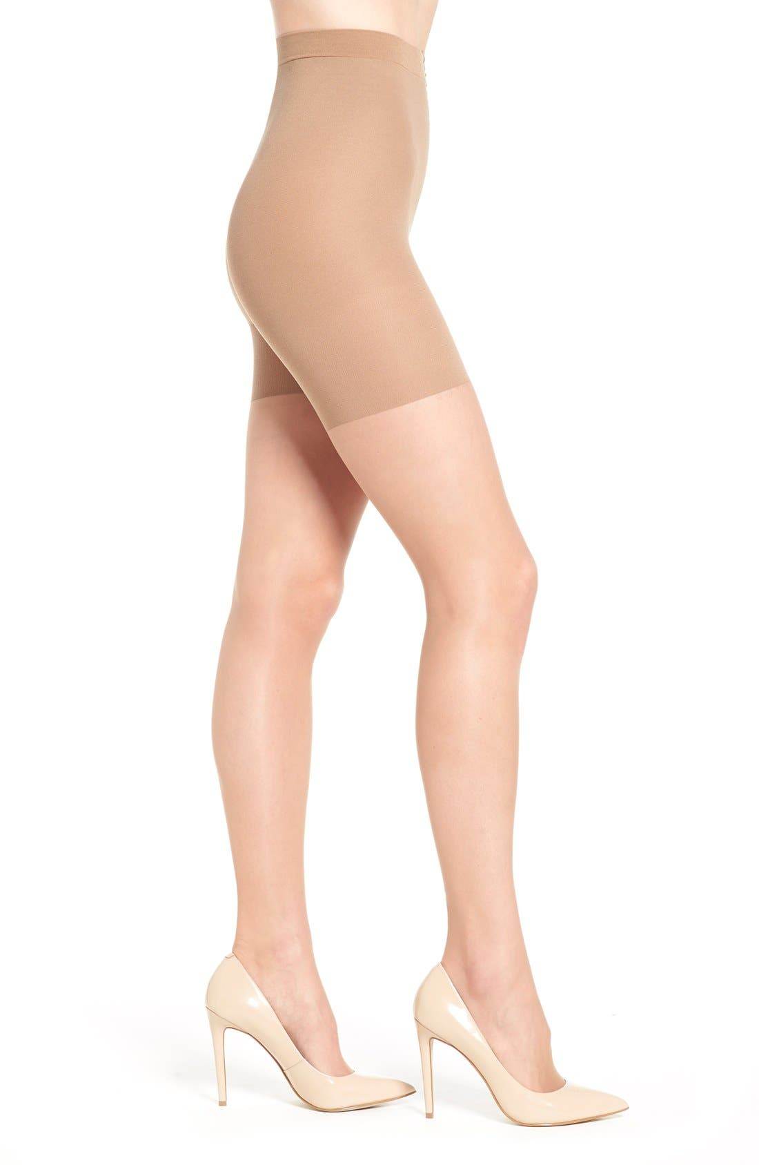 Luxe Leg Pantyhose,                             Main thumbnail 1, color,                             NUDE 4