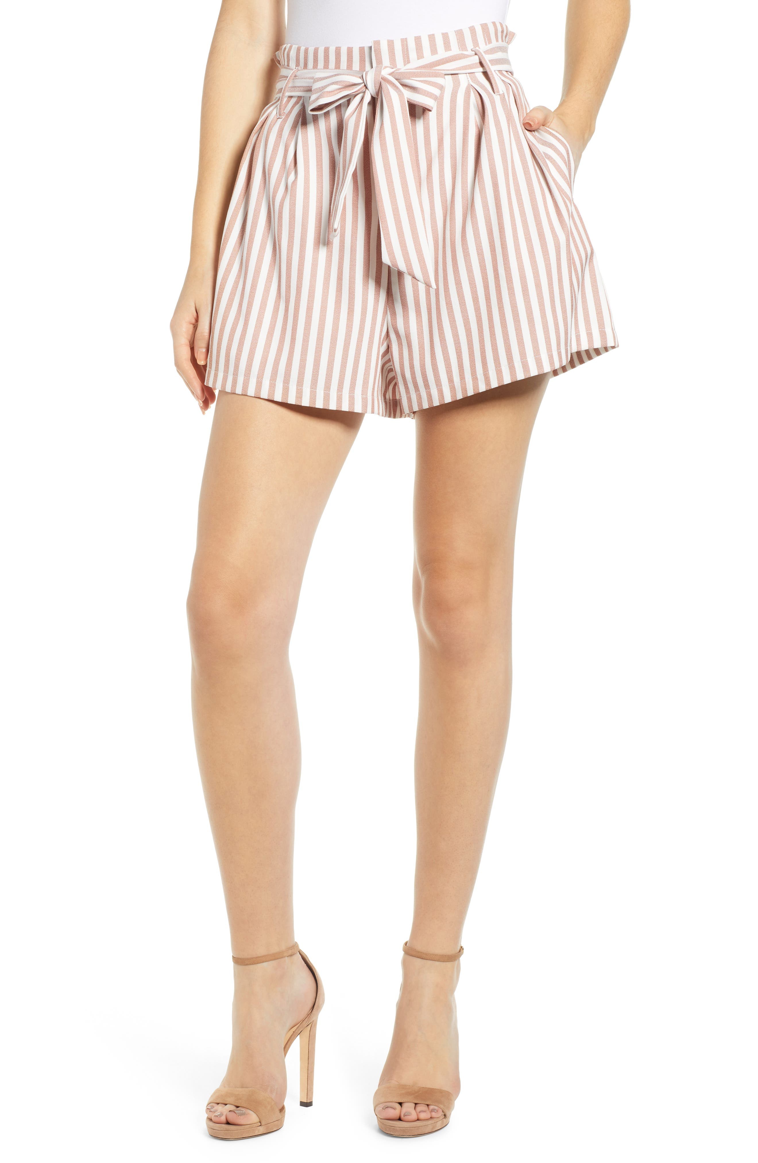 Paperbag Waist Shorts by Bishop + Young