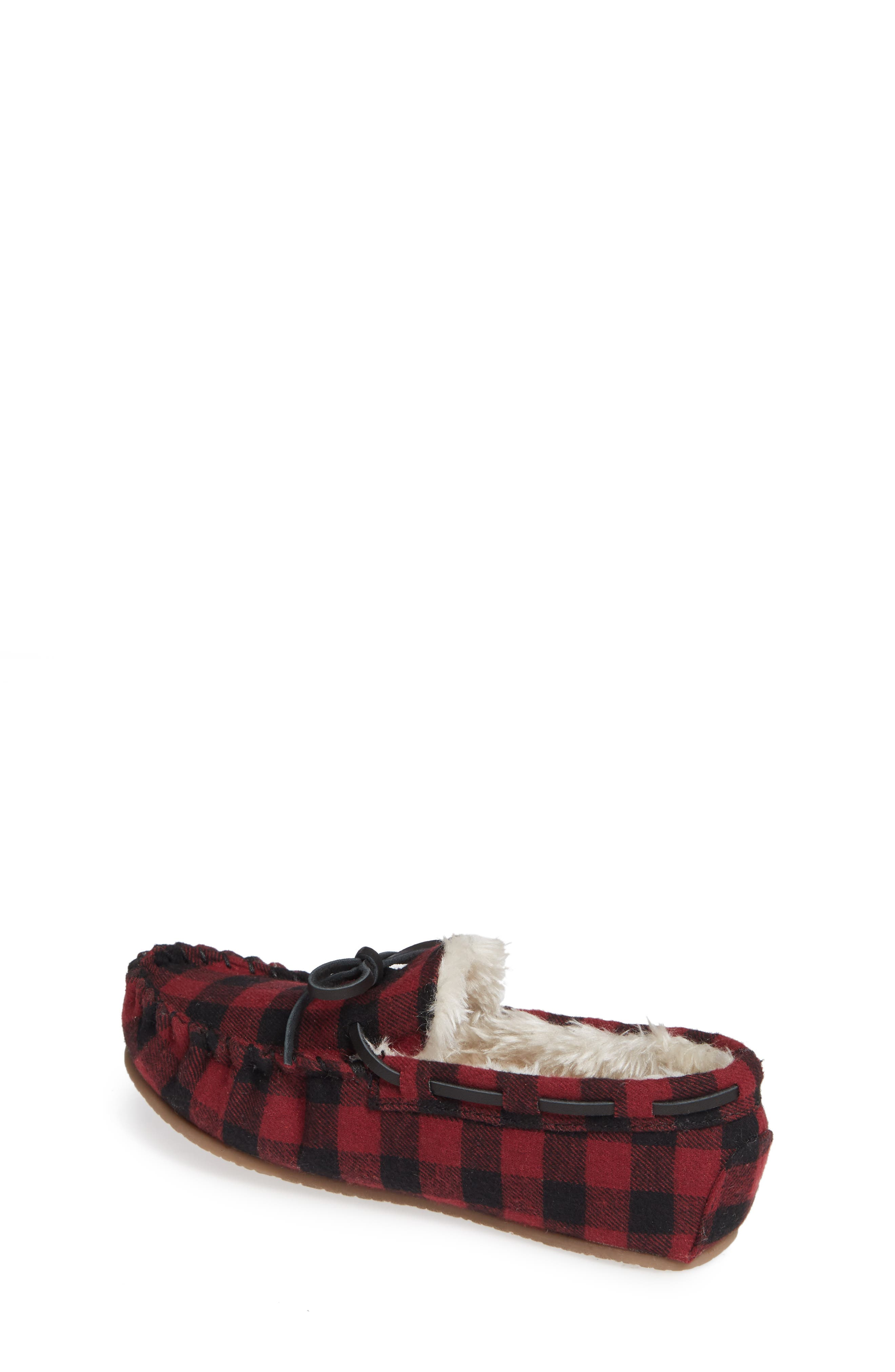 Max Faux Fur Moccasin Slipper,                             Alternate thumbnail 2, color,                             600