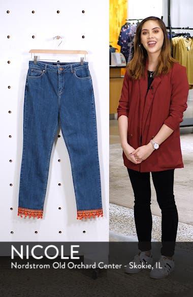 Cambridge Embellished Ankle Skimmer Jeans, sales video thumbnail