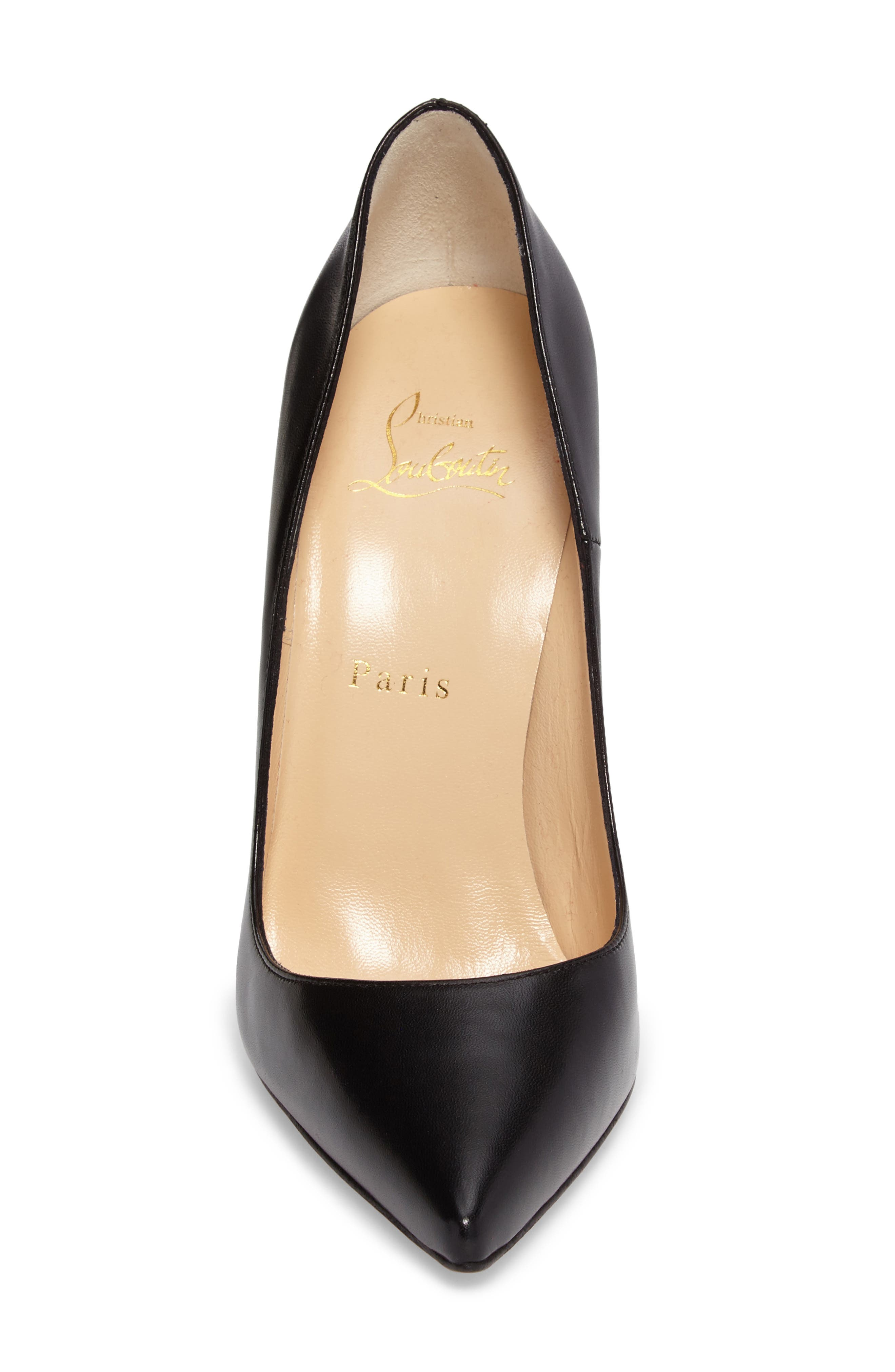 CHRISTIAN LOUBOUTIN,                             So Kate Pointy Toe Pump,                             Alternate thumbnail 4, color,                             001