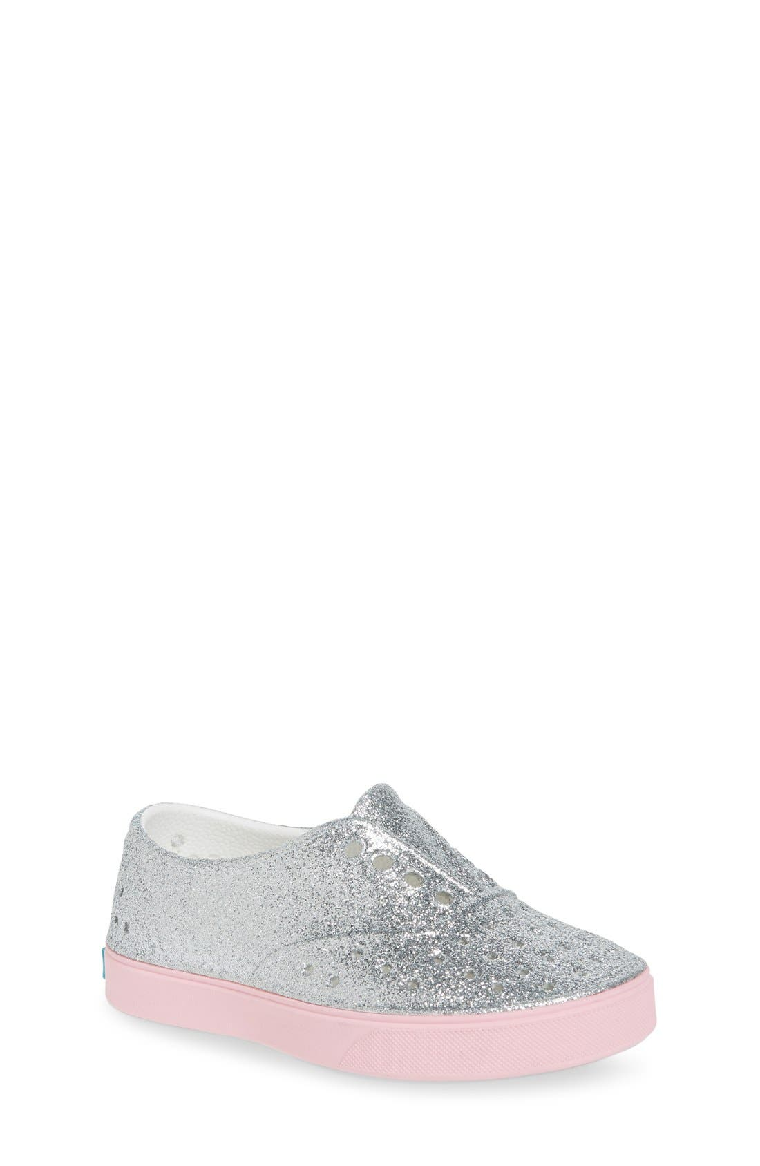 Miller Sparkly Perforated Slip-On,                             Main thumbnail 3, color,