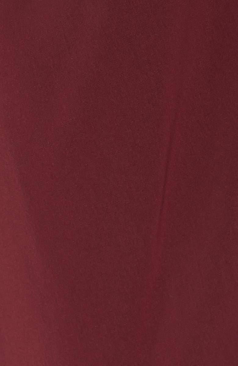 f7d8a026fb3 Shona Joy Knotted Tulip Hem Midi Dress