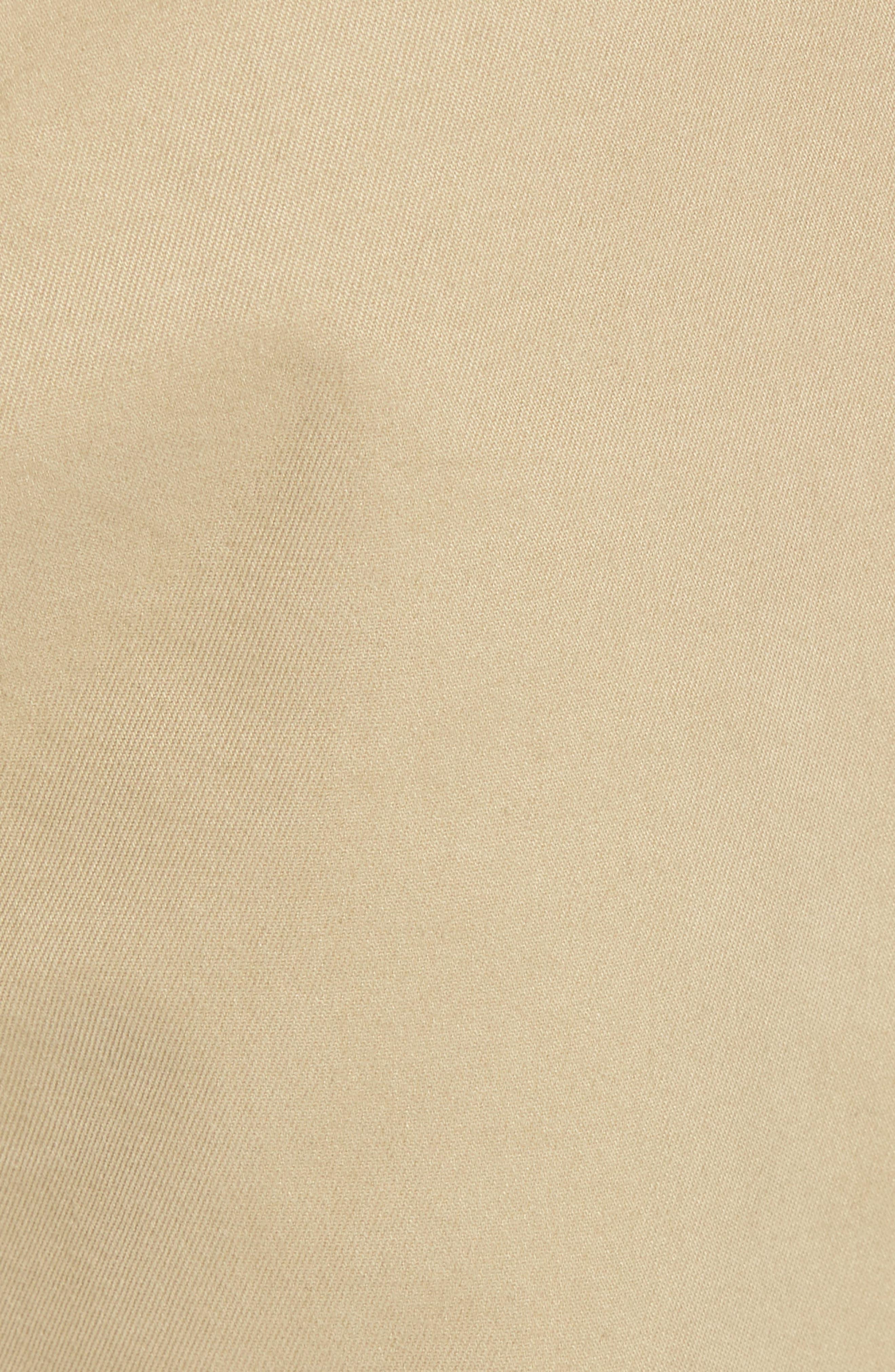 Flat Front Chino Pants,                             Alternate thumbnail 5, color,                             250