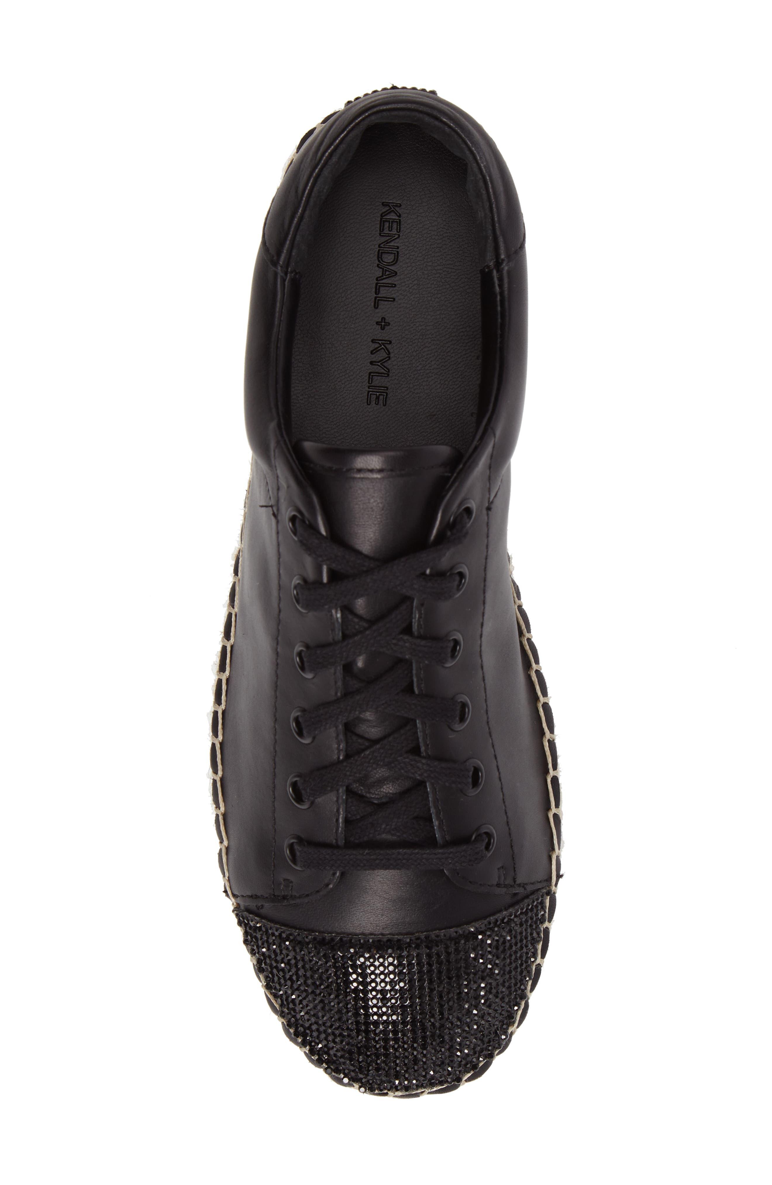 Joslyn Espadrille Sneaker,                             Alternate thumbnail 5, color,                             001