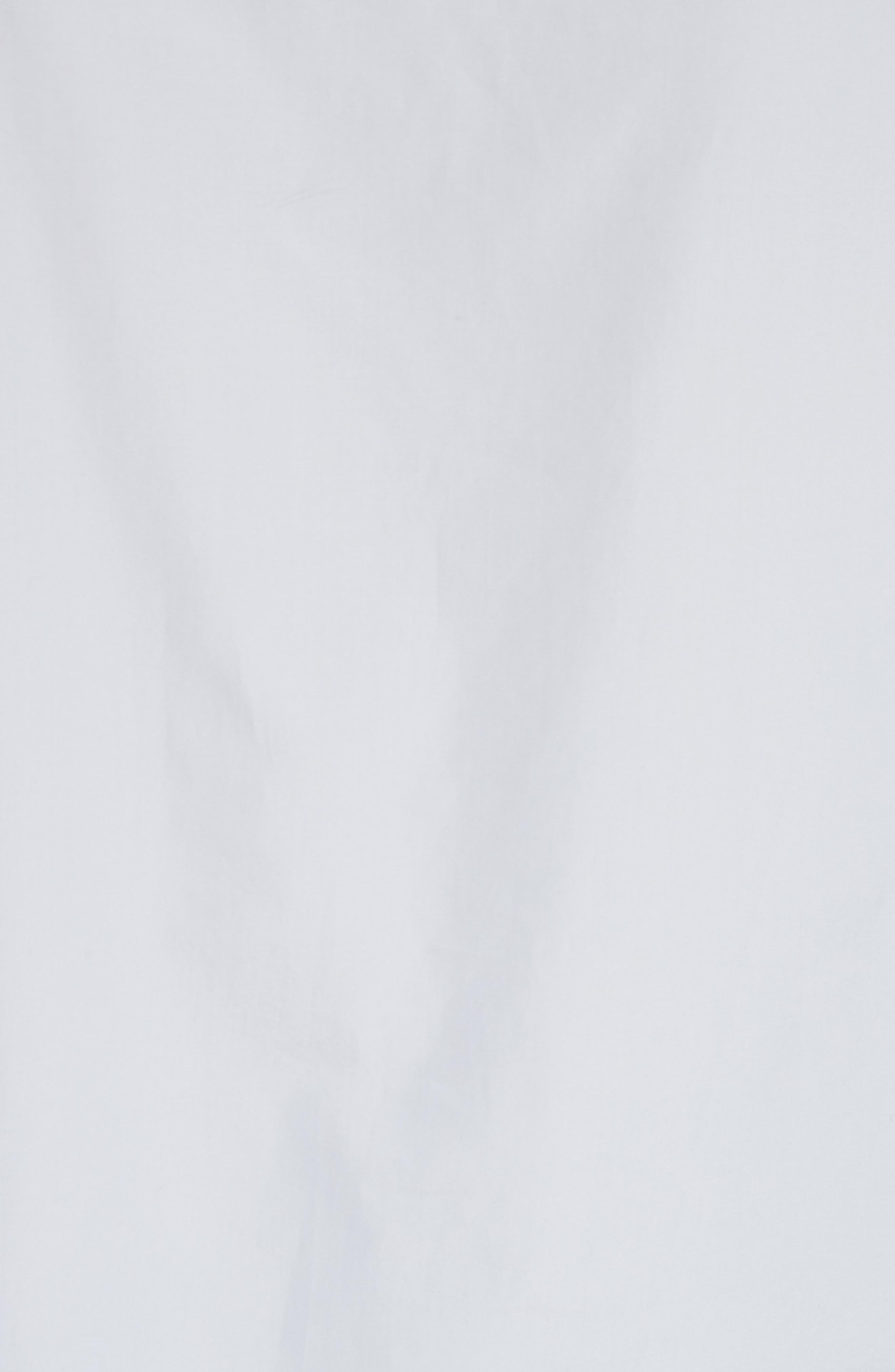 Faux Pearl & Chain Lacing Cotton Top,                             Alternate thumbnail 5, color,                             450