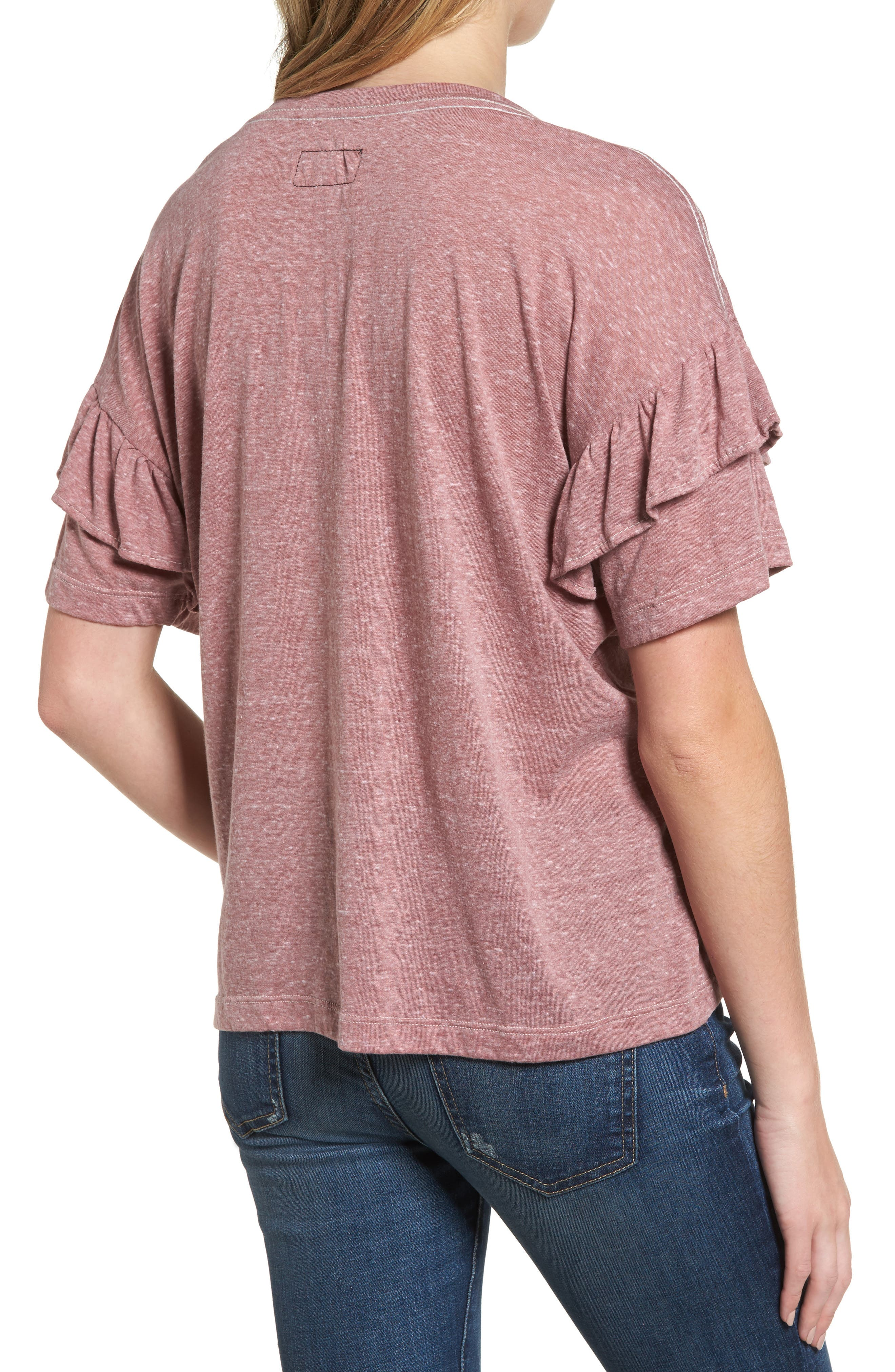 The Ruffle Roadie Tee,                             Alternate thumbnail 2, color,                             683