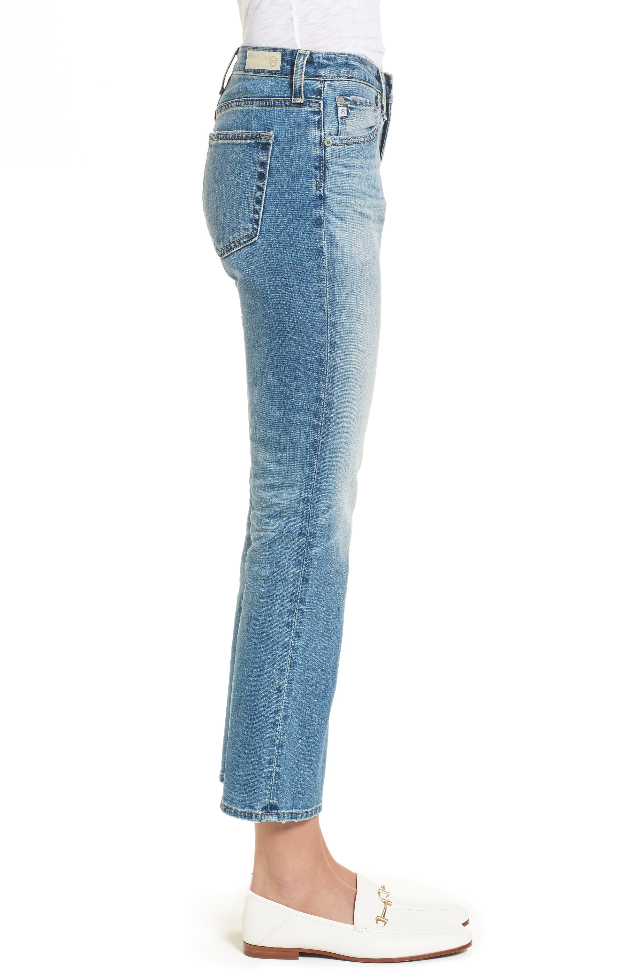Jodi Crop Flare Jeans,                             Alternate thumbnail 3, color,