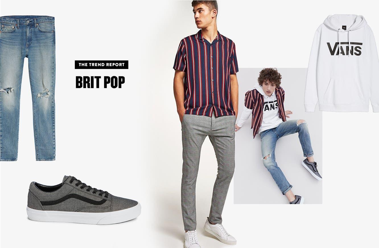 Trend report, Brit pop.