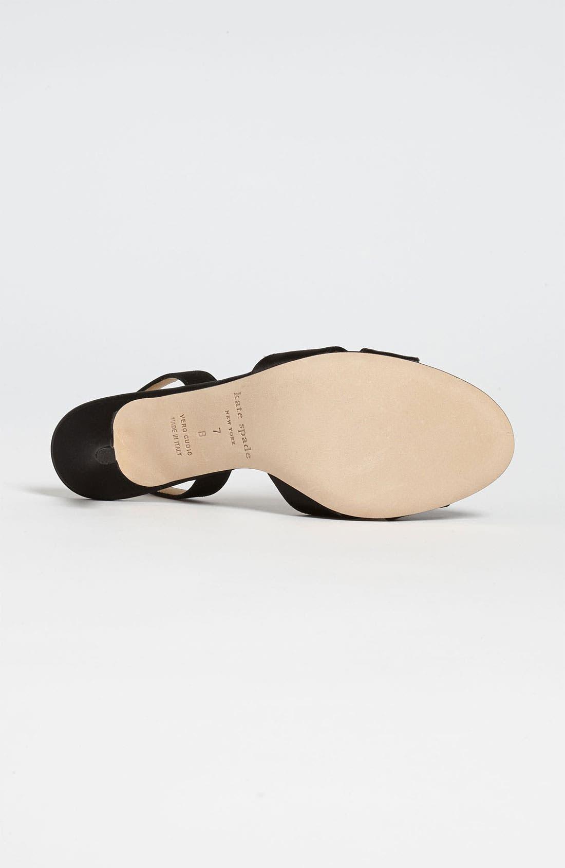 'madison' sandal,                             Alternate thumbnail 4, color,                             001