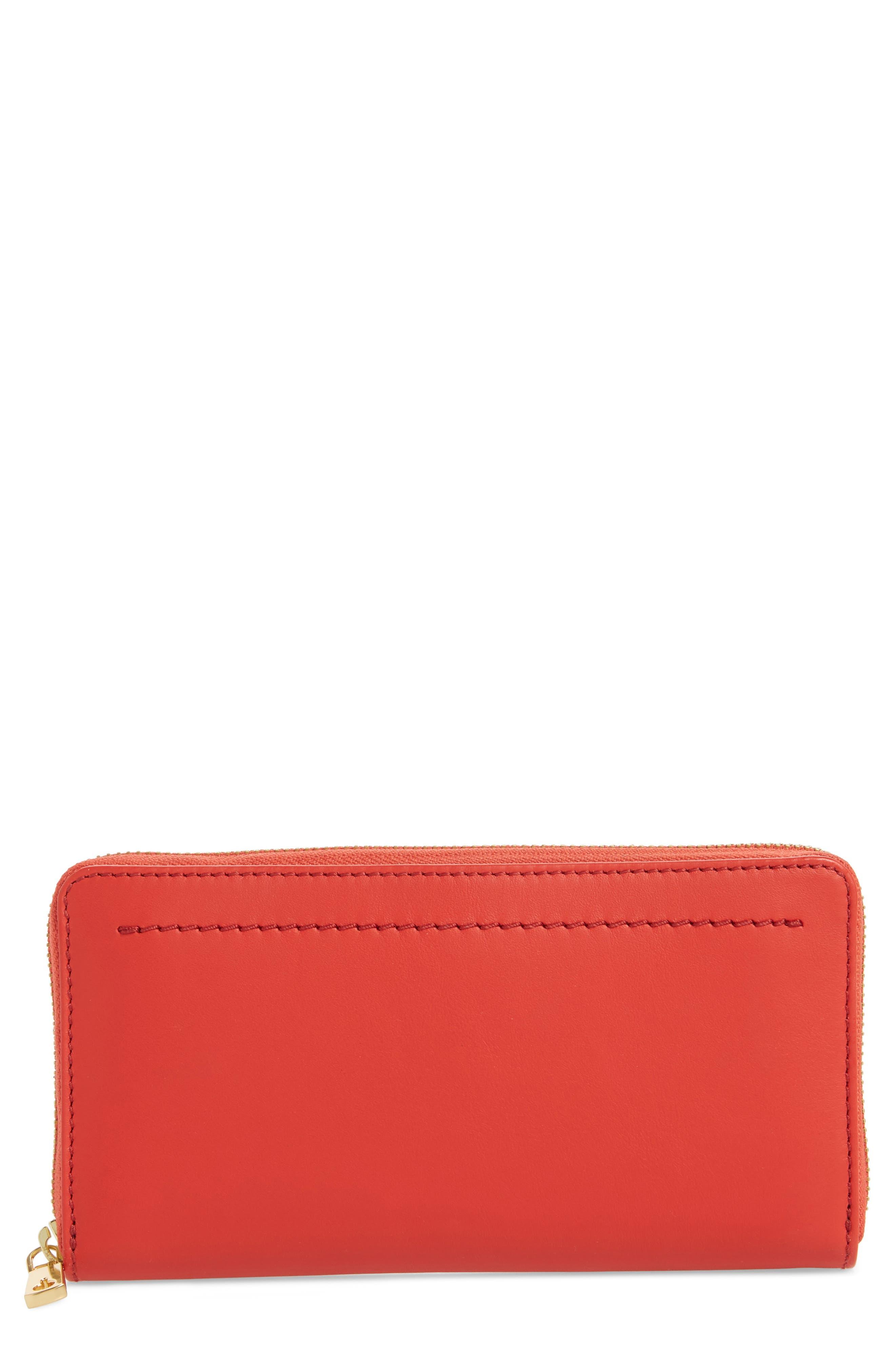 Zoe Continental Zip Wallet,                             Main thumbnail 2, color,