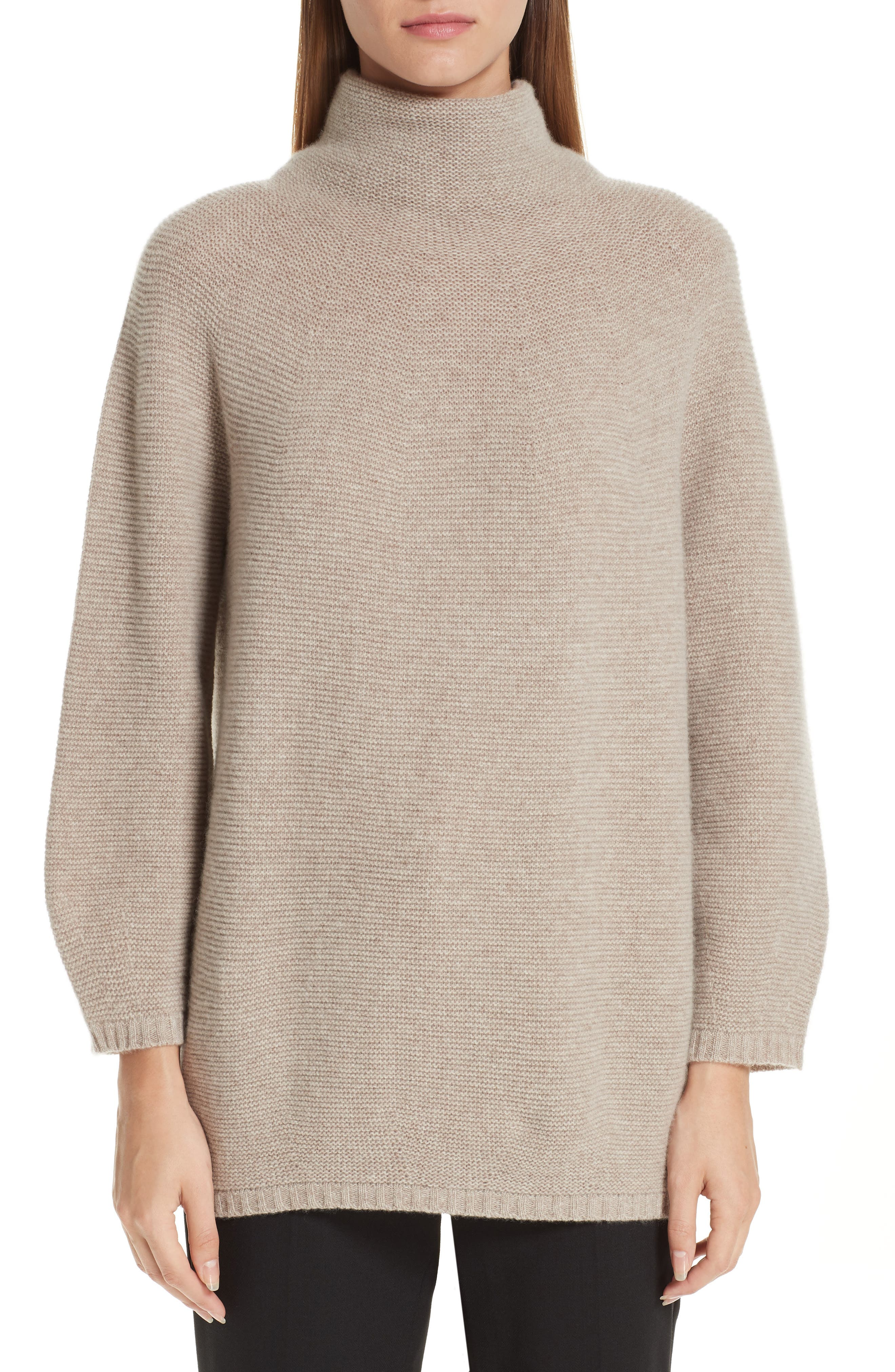 MAX MARA,                             Etrusco Wool & Cashmere Turtleneck Sweater,                             Main thumbnail 1, color,                             050