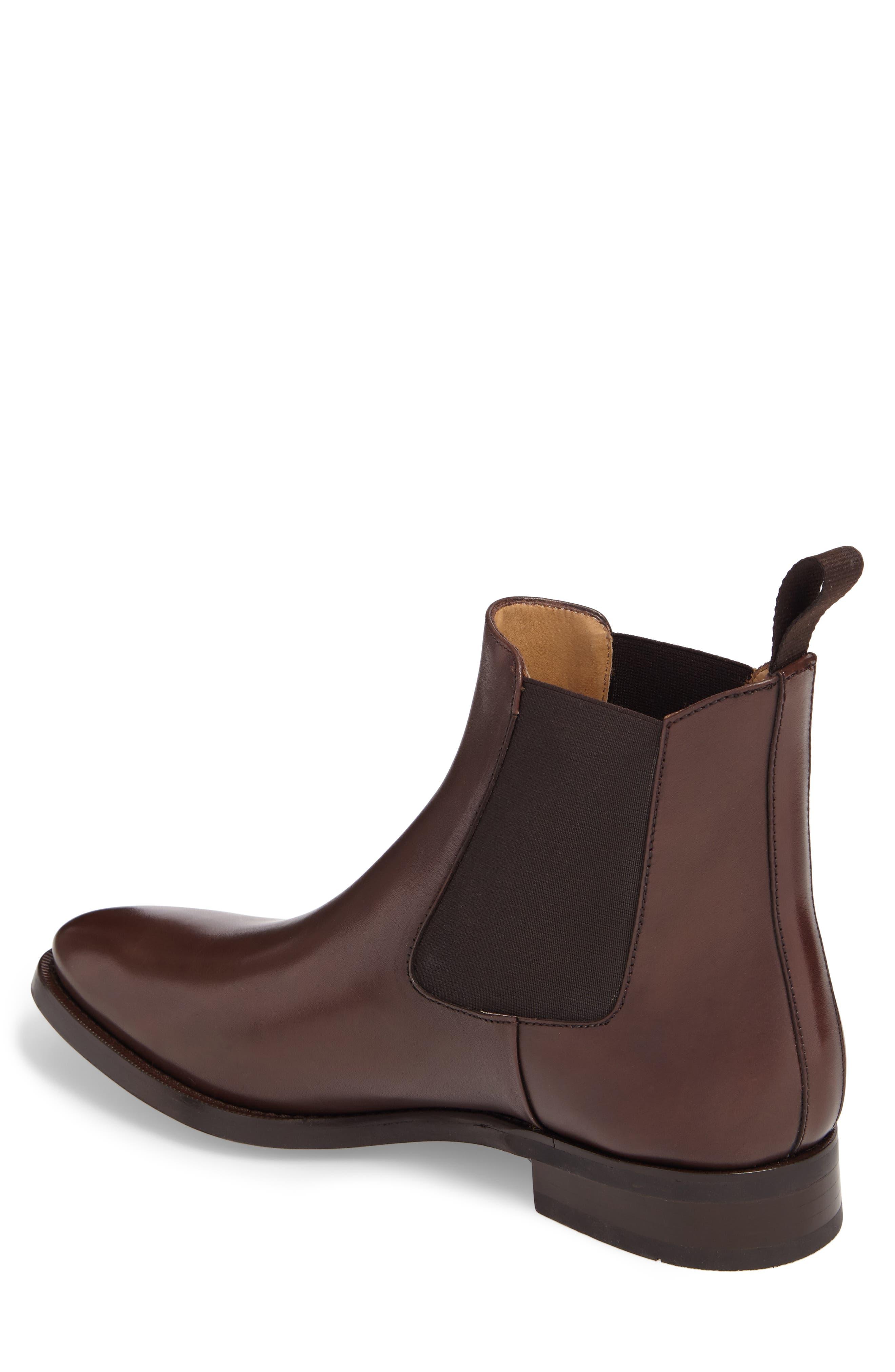 Ellis Water Resistant Chelsea Boot,                             Alternate thumbnail 4, color,