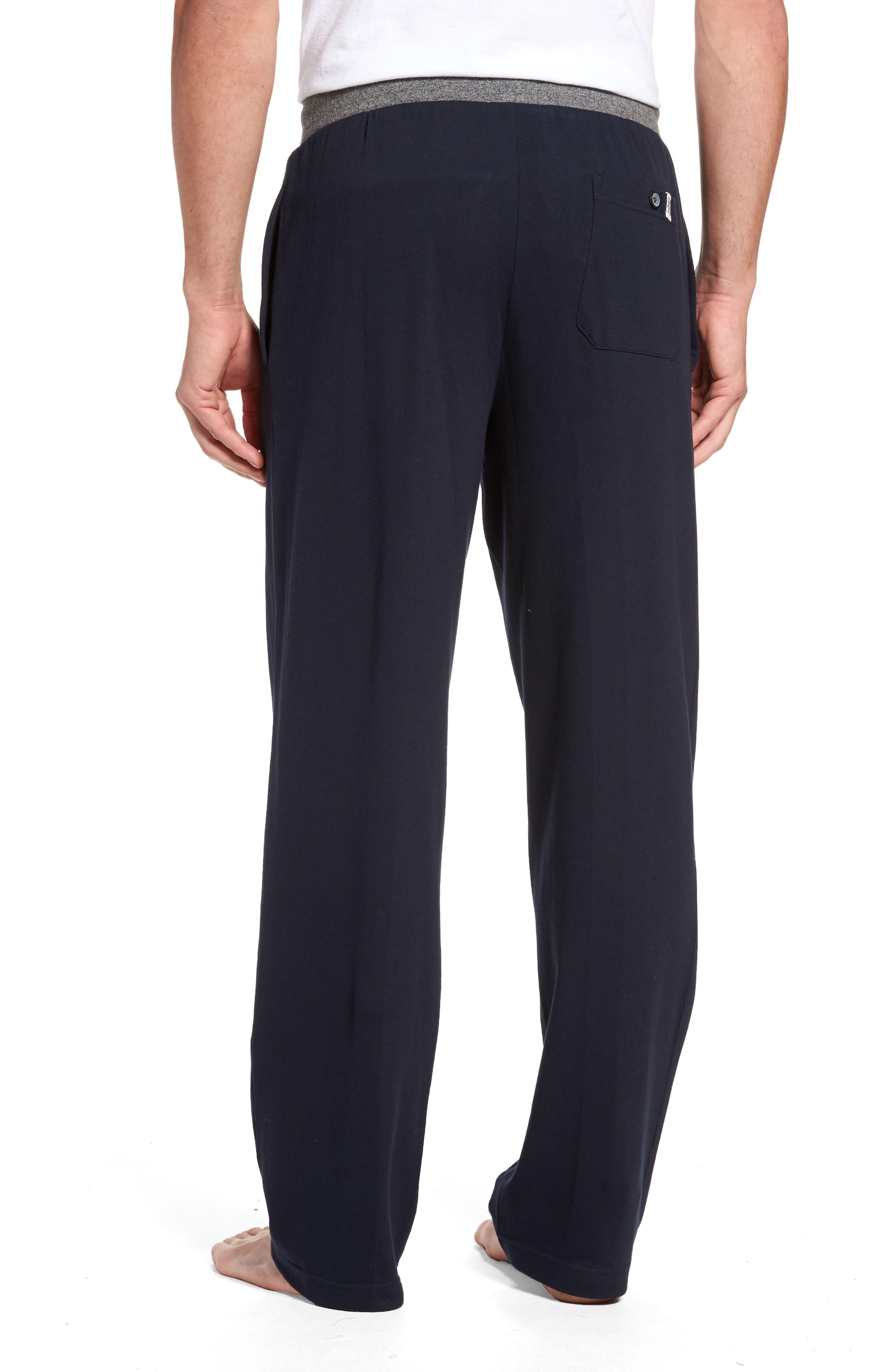 Trey Knit Lounge Pants,                             Alternate thumbnail 3, color,                             400