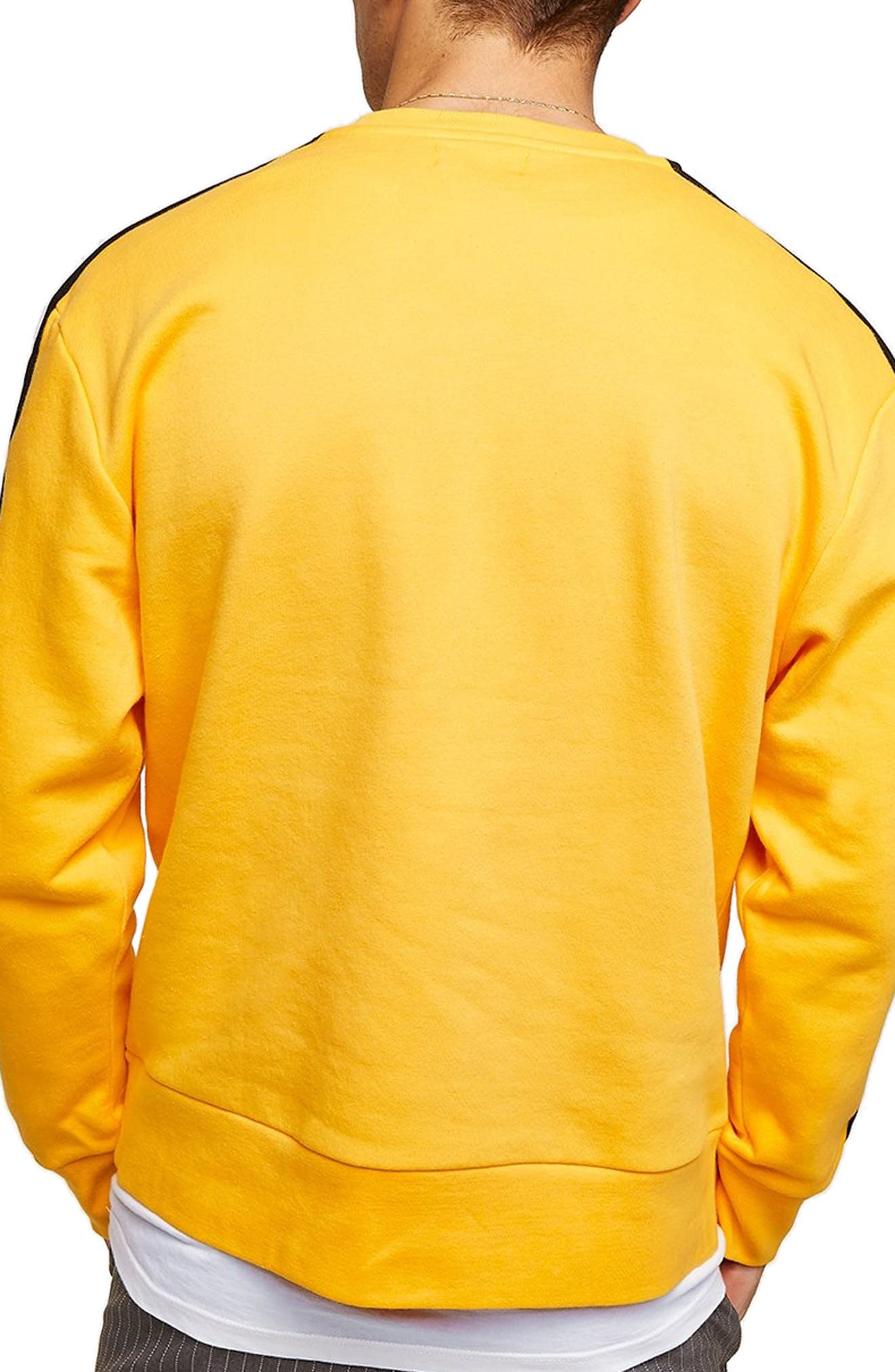 Taped Classic Fit Sweatshirt,                             Alternate thumbnail 2, color,                             700